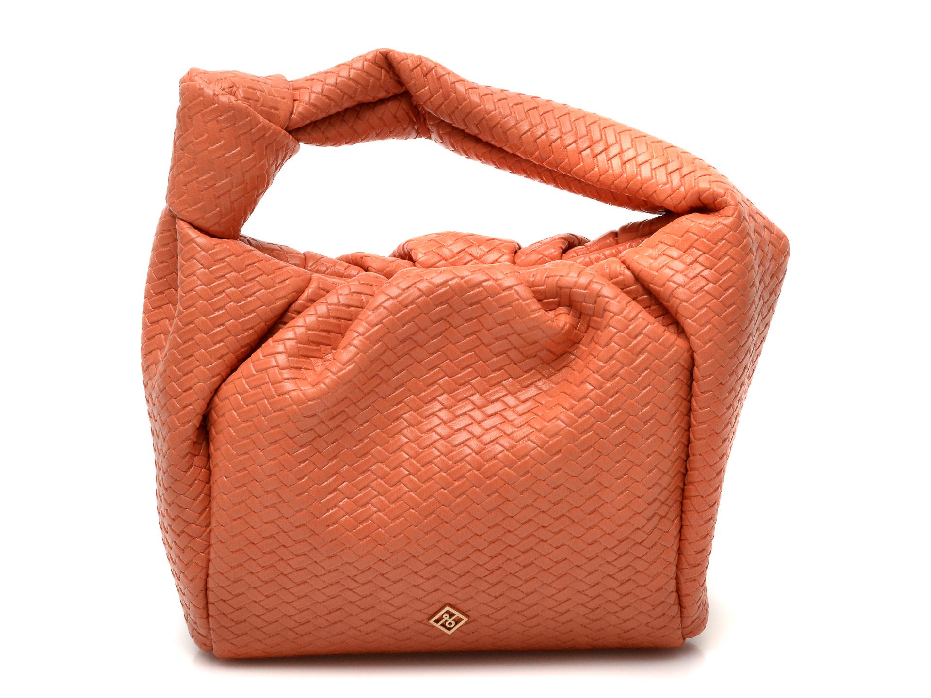 Poseta CALL IT SPRING portocalie, UNAU830, din piele ecologica imagine otter.ro 2021