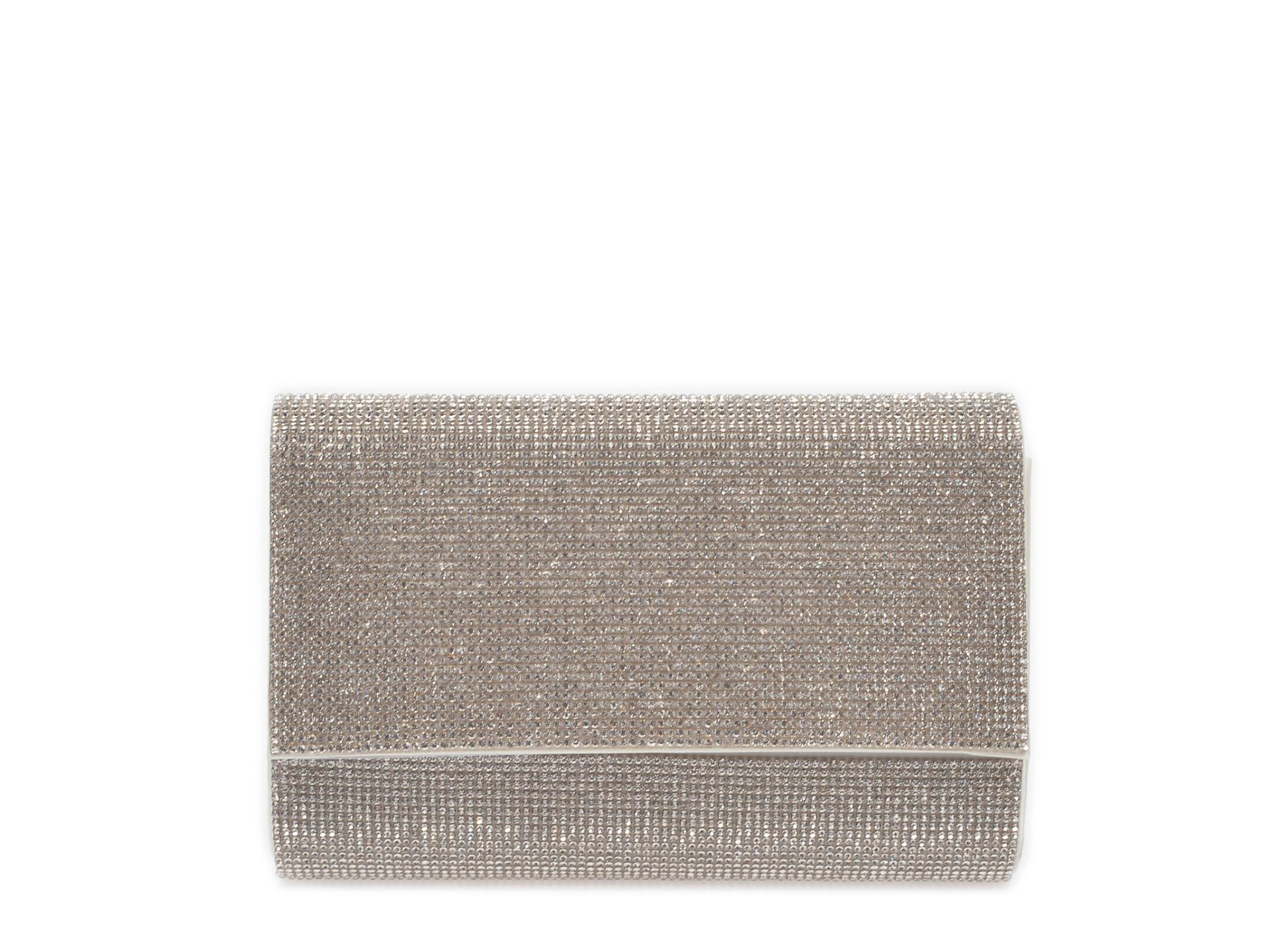 Poseta plic ALDO argintie, Imnaha040, din material textil imagine