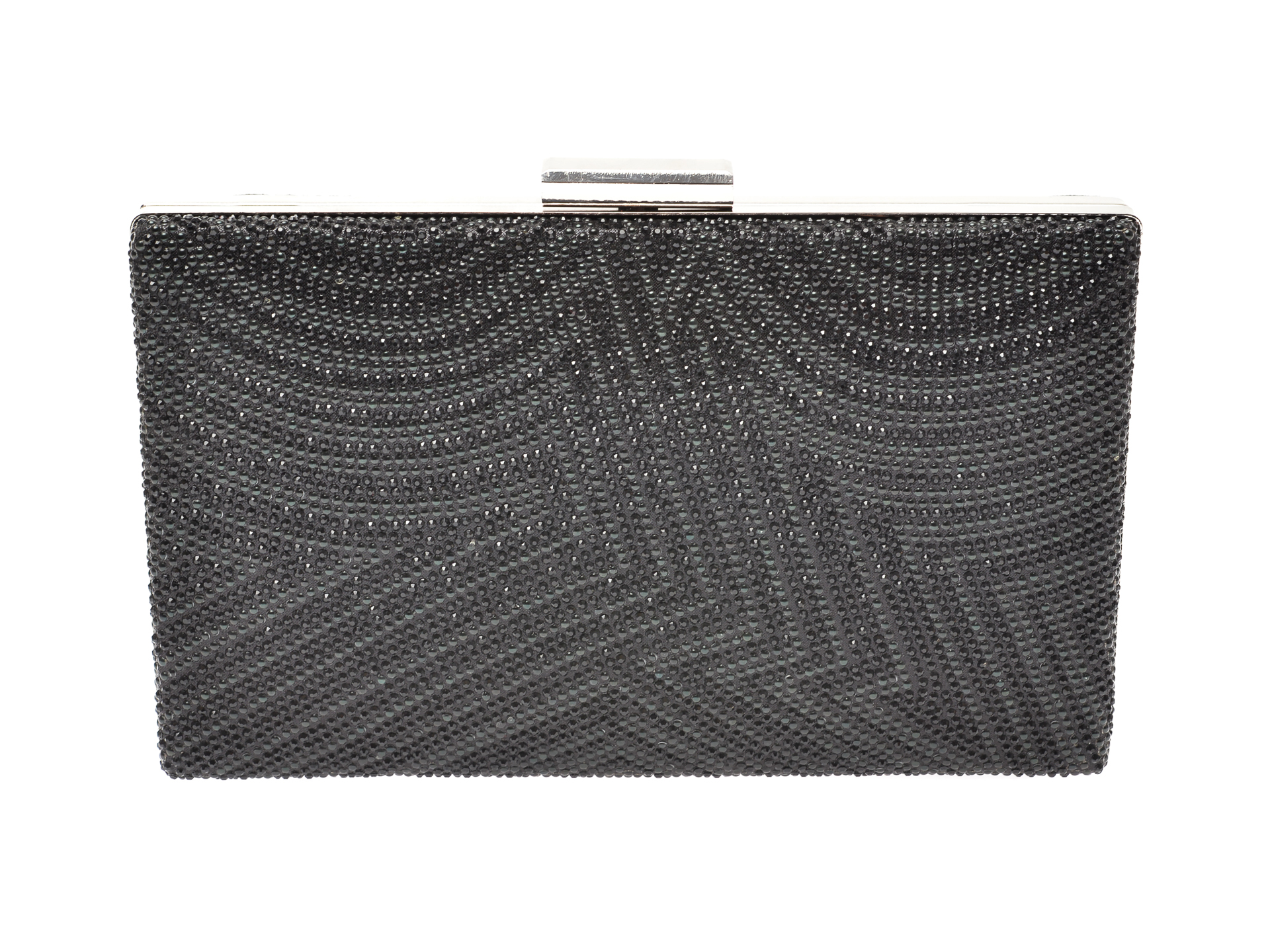 Poseta plic MARINA GALANTI neagra, 1E01, din material textil imagine