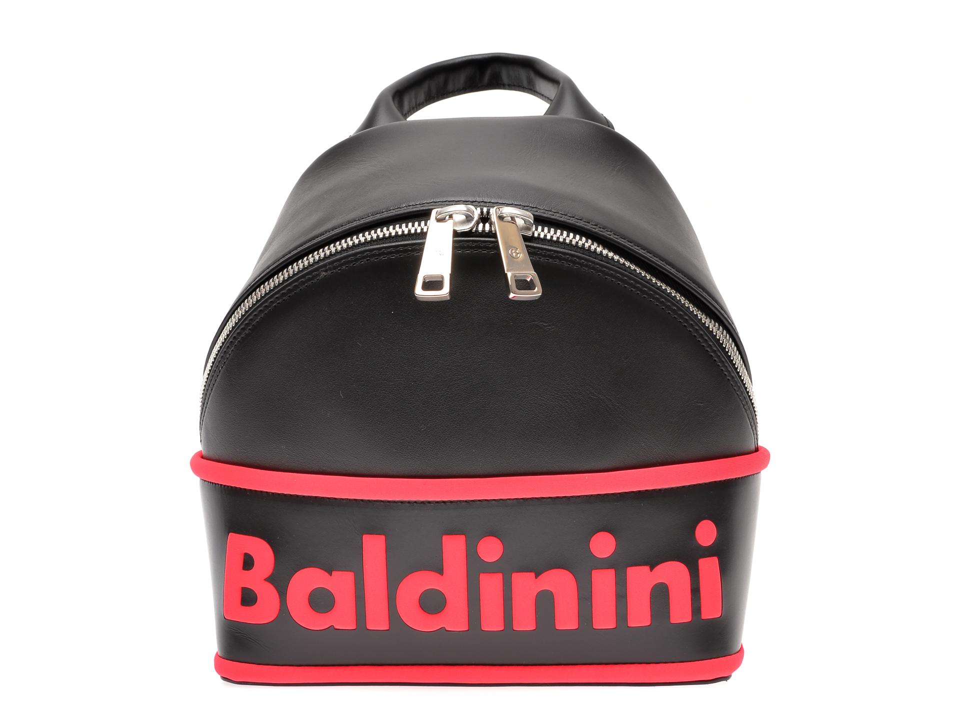Rucsac BALDININI negru, 070119, din piele naturala
