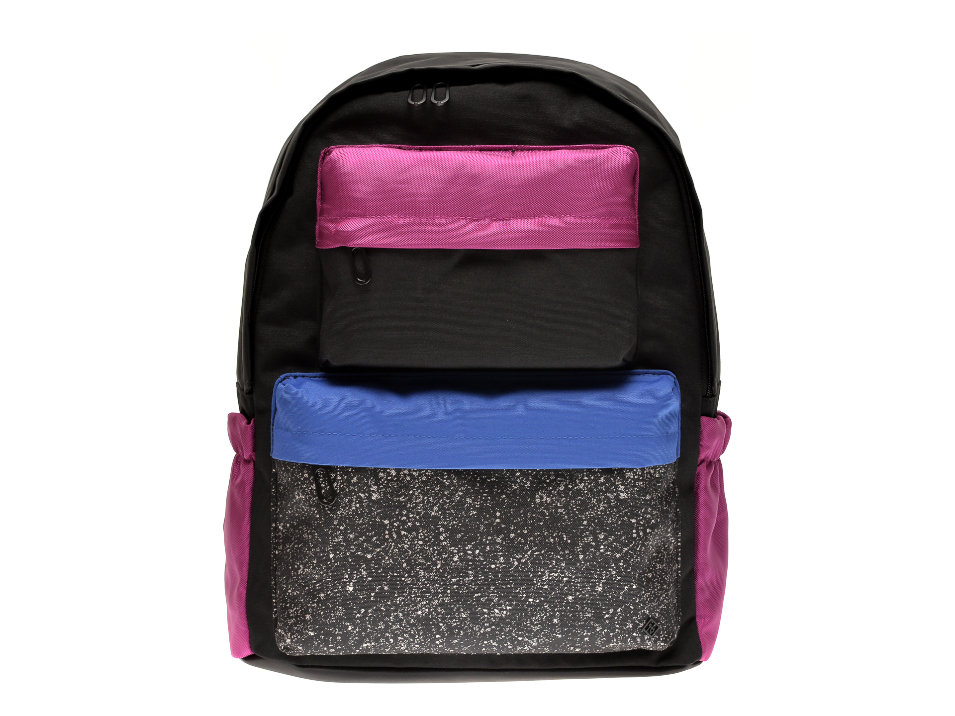 Rucsac CALL IT SPRING negru, COLO001, din material textil imagine otter.ro 2021