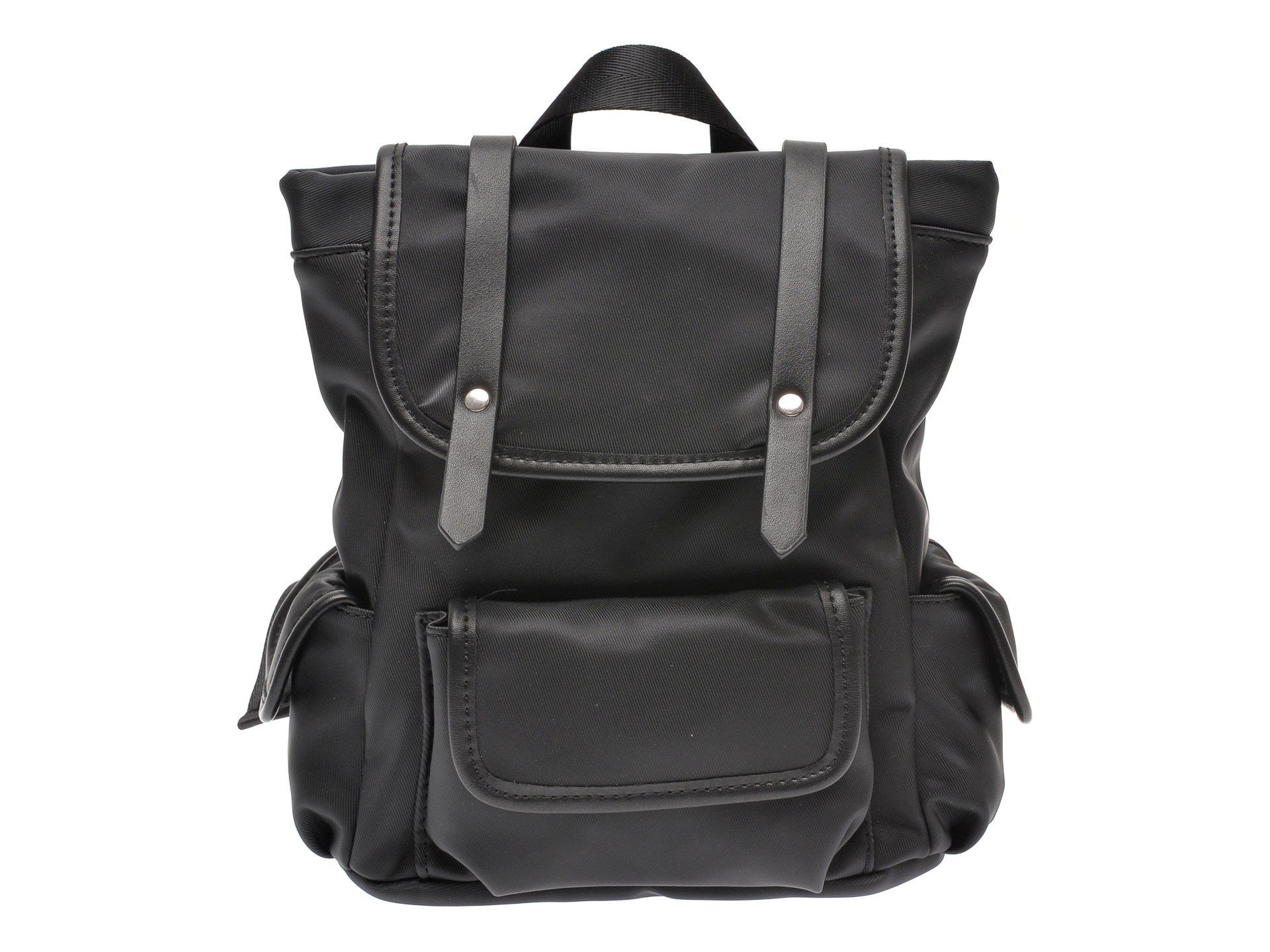 Rucsac CALL IT SPRING negru, LION001, din material textil New