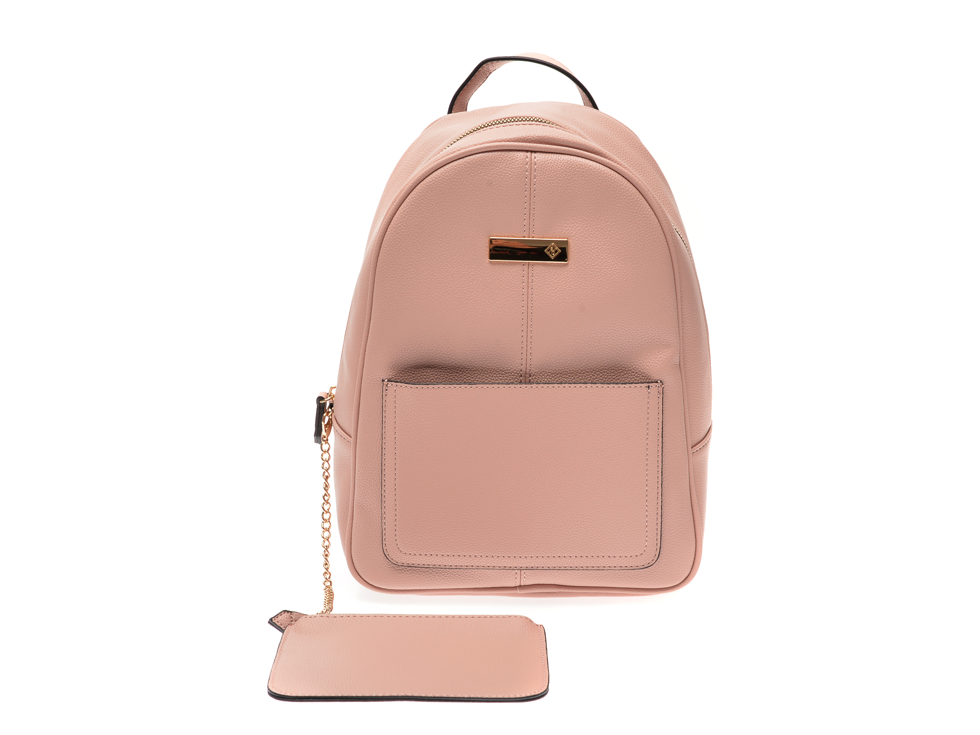 Rucsac CALL IT SPRING nude, GOAL680, din material textil imagine