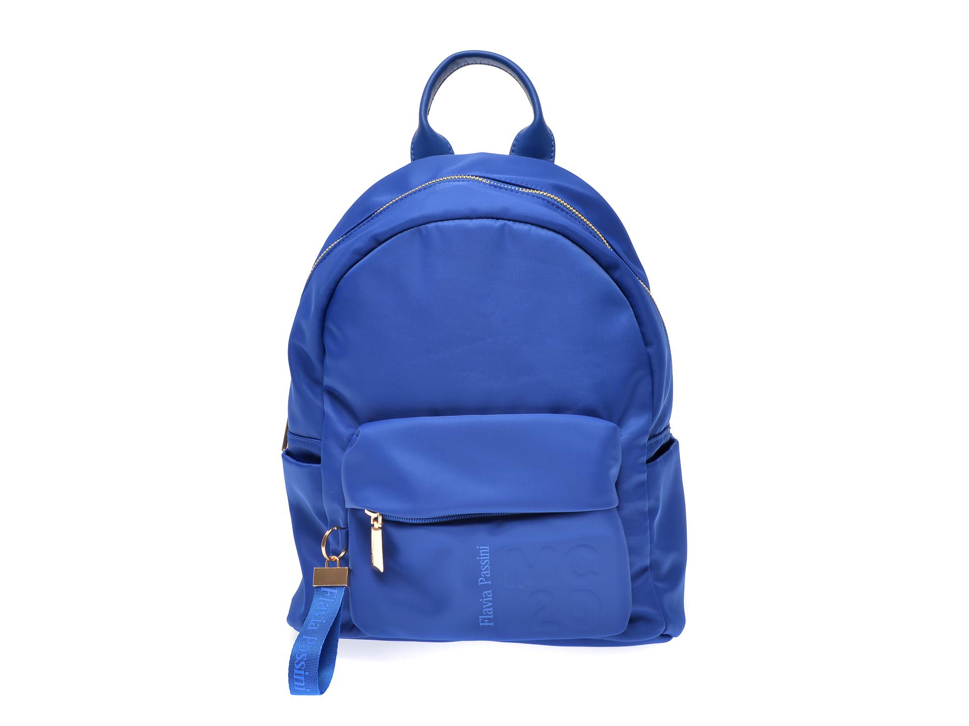 Rucsac FLAVIA PASSINI albastru, B29700, din material textil imagine