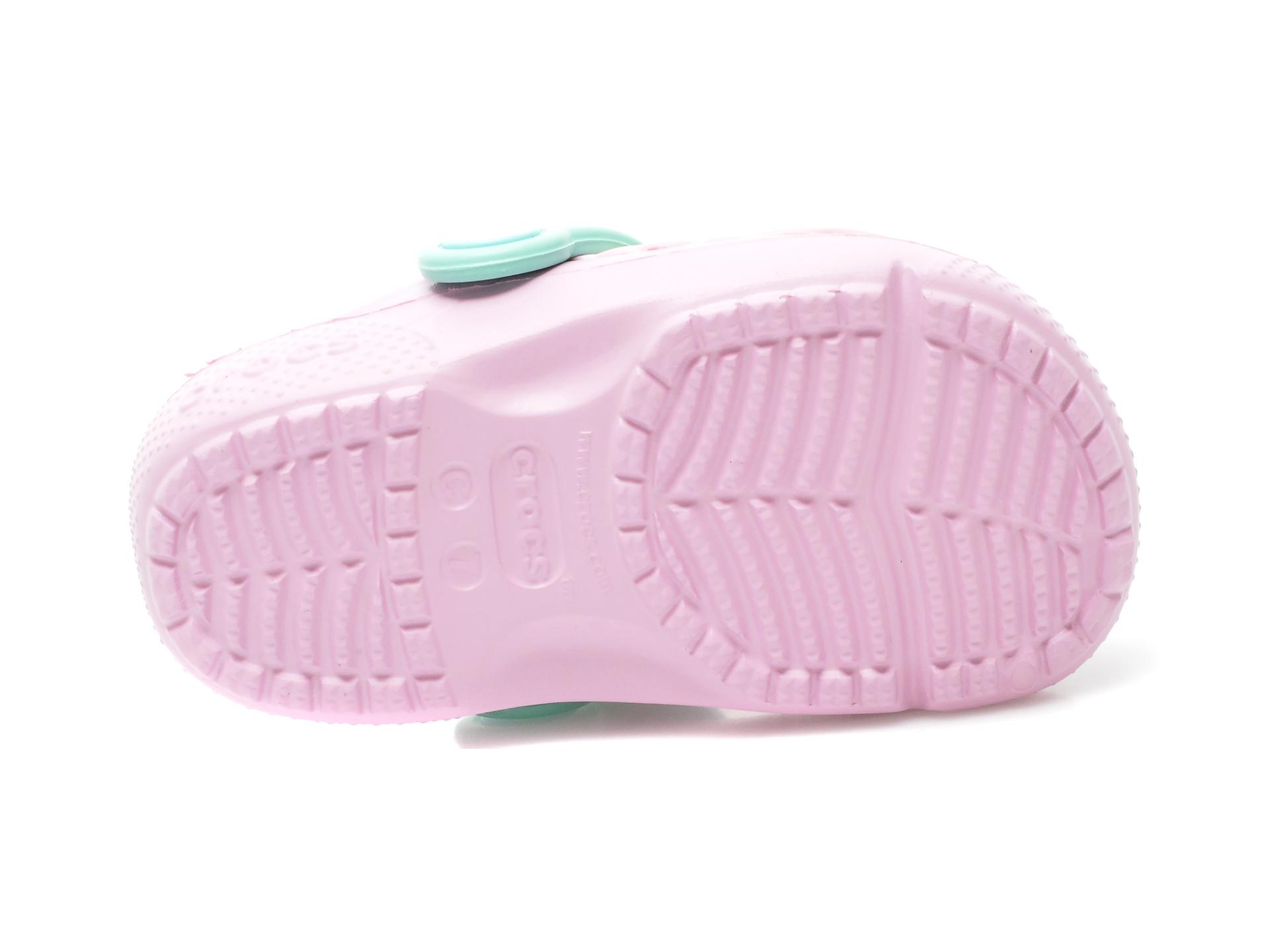 Saboti CROCS roz, Crocs Crocs Fun Lab Clog K, din pvc - 7