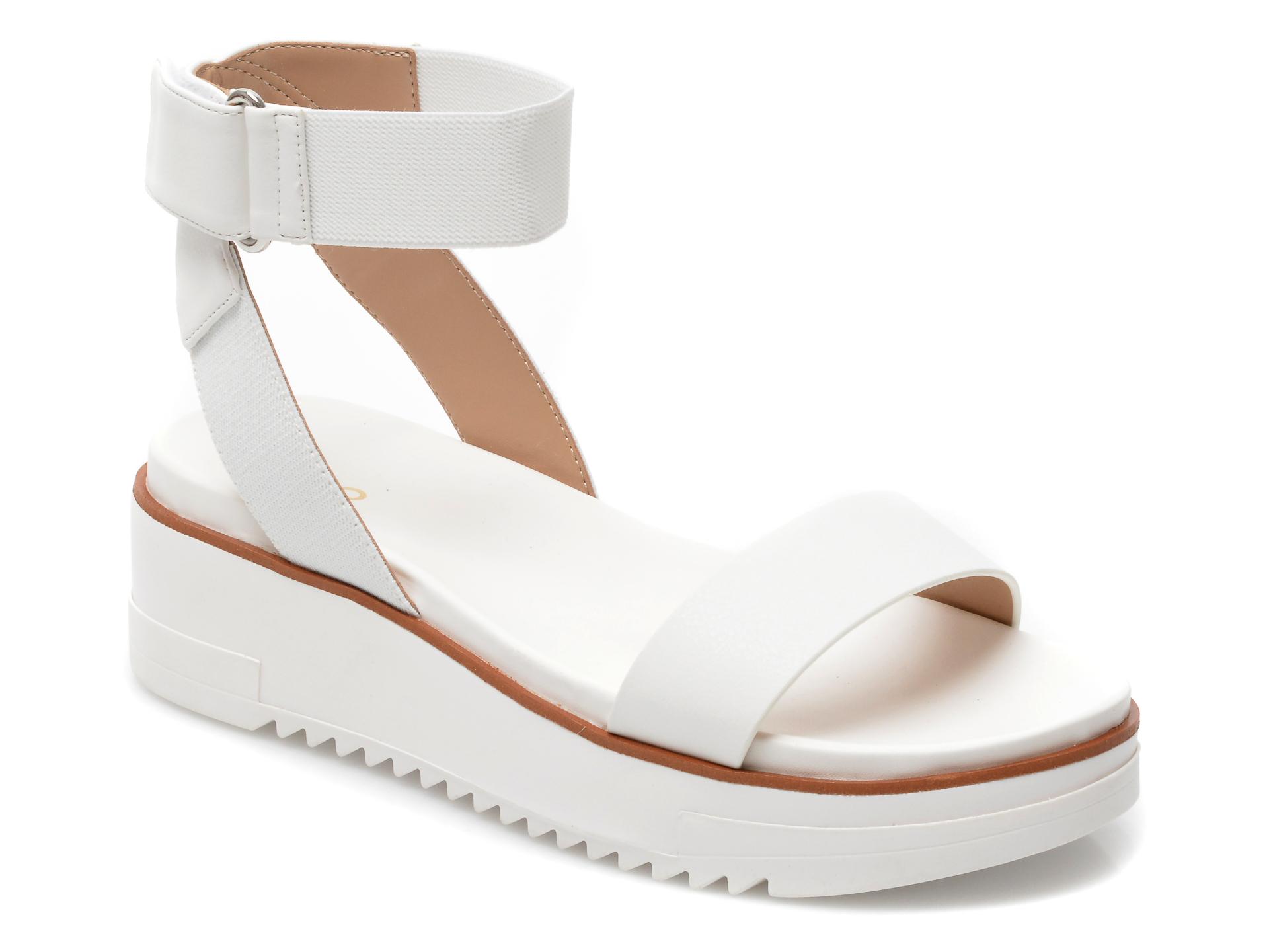 Sandale ALDO albe, 13240915, din piele ecologica imagine 2021 Aldo