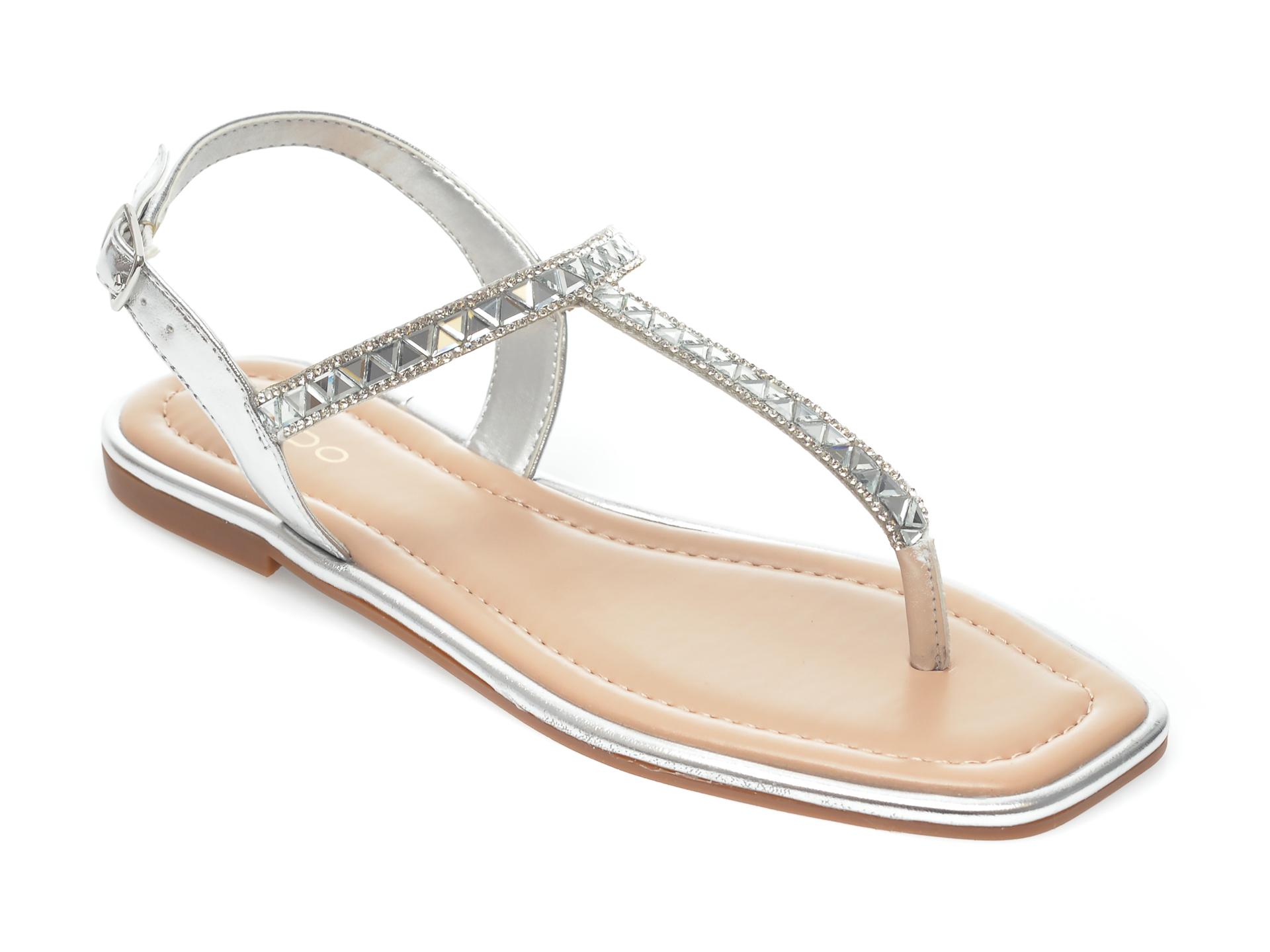 Sandale ALDO argintii, Sheina040, din piele ecologica imagine otter.ro 2021