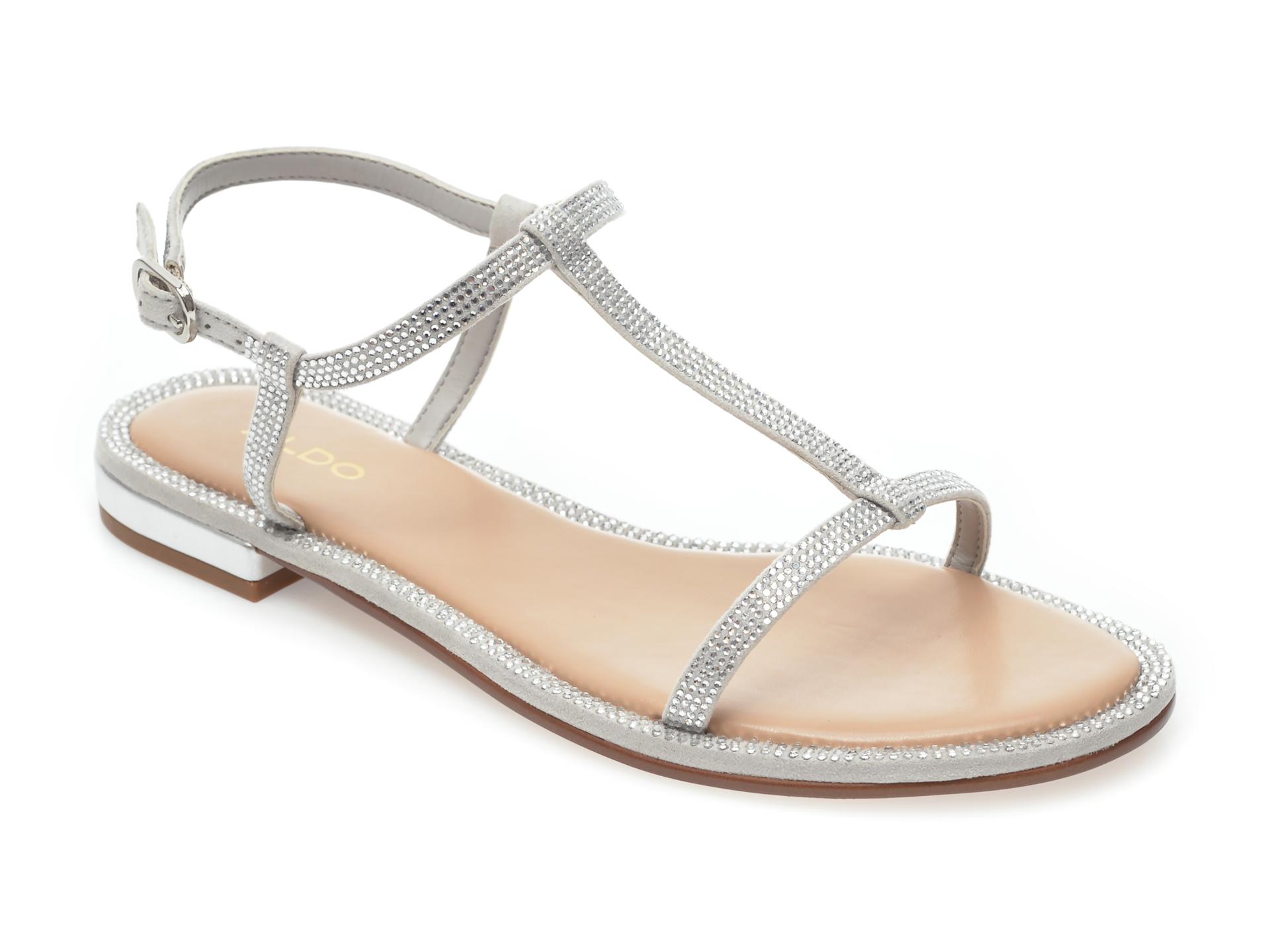 Sandale ALDO argintii, Yboimma040, din piele ecologica imagine otter.ro 2021