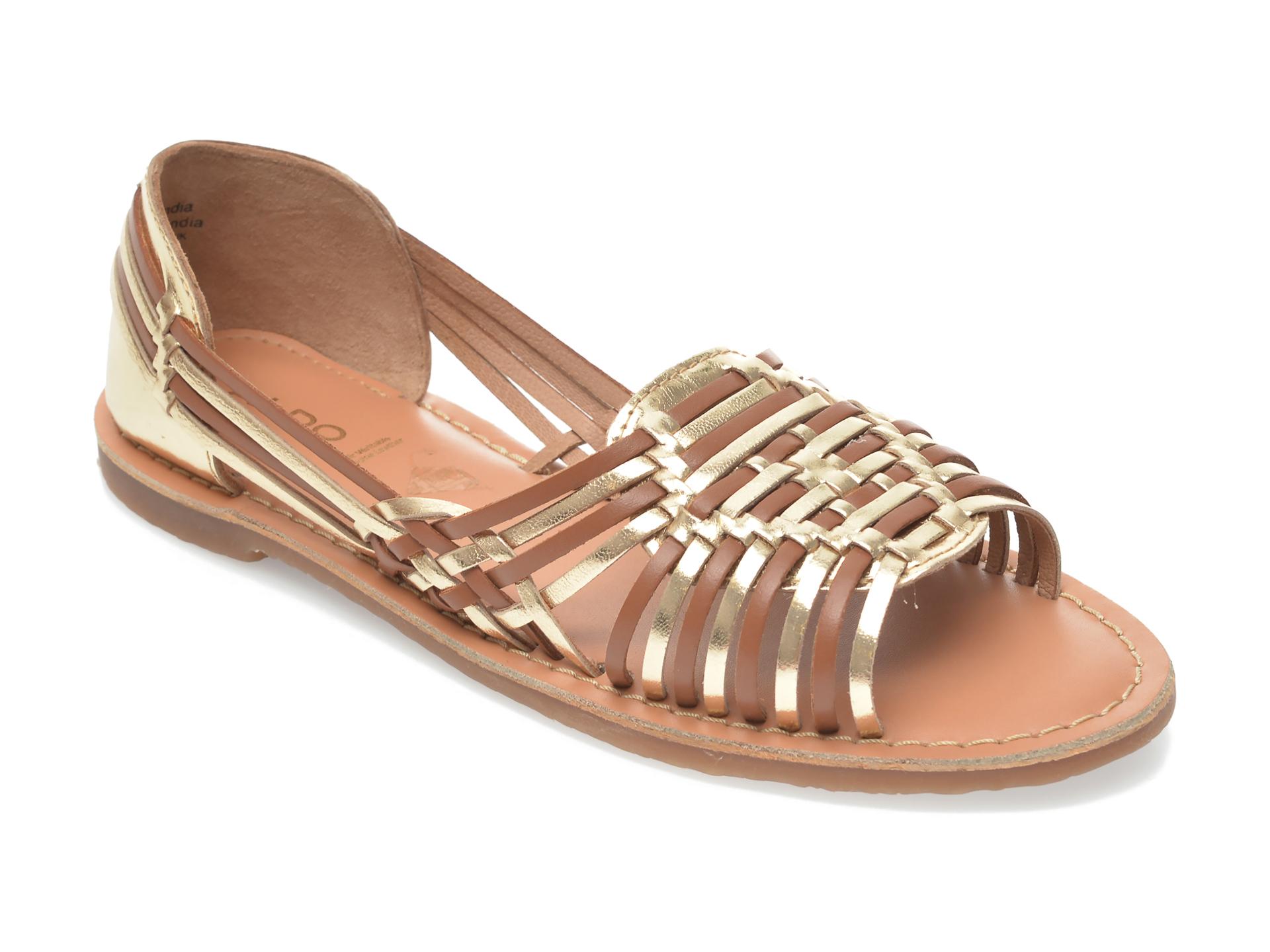 Sandale ALDO aurii, Ariadnee710, din piele naturala imagine otter.ro 2021