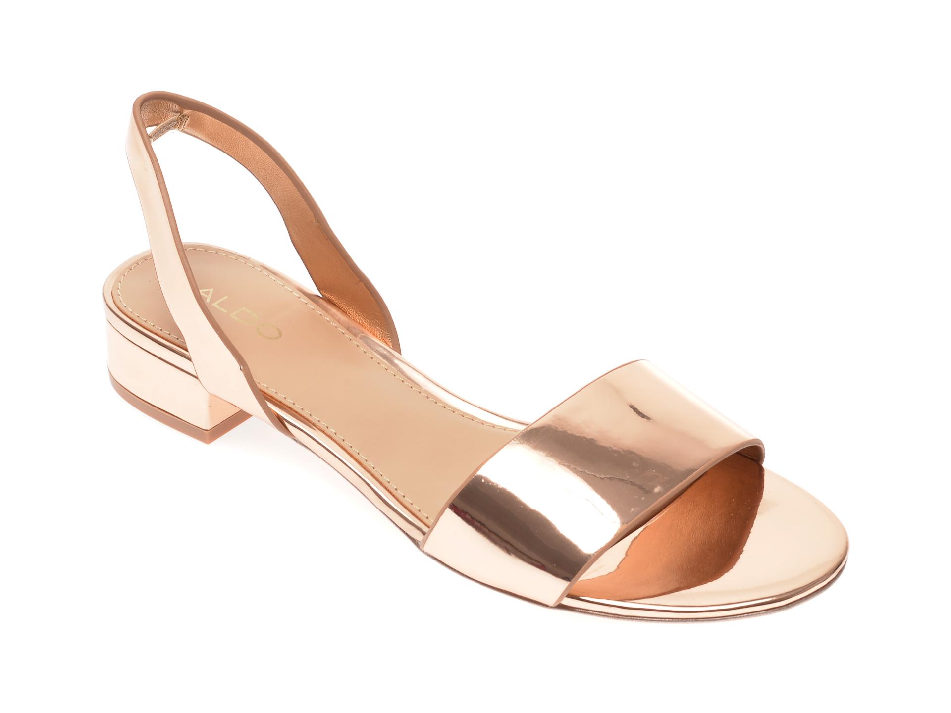 Sandale ALDO aurii, Candice962, din piele ecologica imagine otter.ro 2021