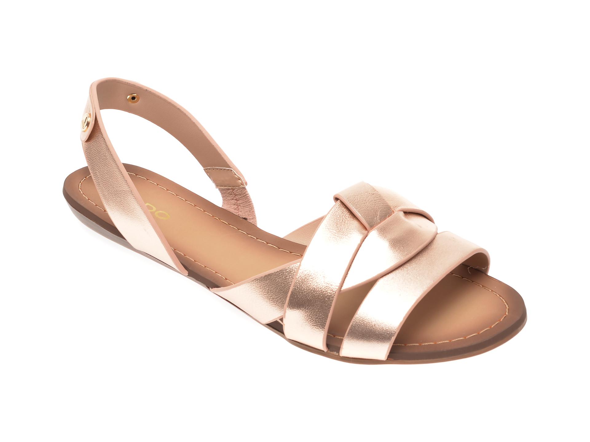Sandale ALDO aurii, Deladriewiel962, din piele naturala imagine otter.ro 2021