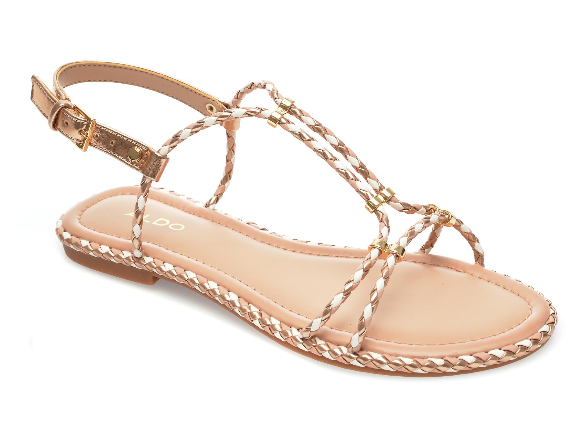 Sandale ALDO aurii, Qilinna653, din piele ecologica imagine otter.ro 2021