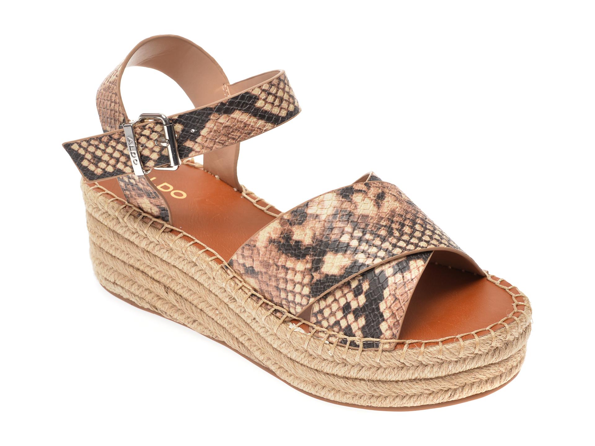 Sandale ALDO bej, Tineviel101, din piele ecologica