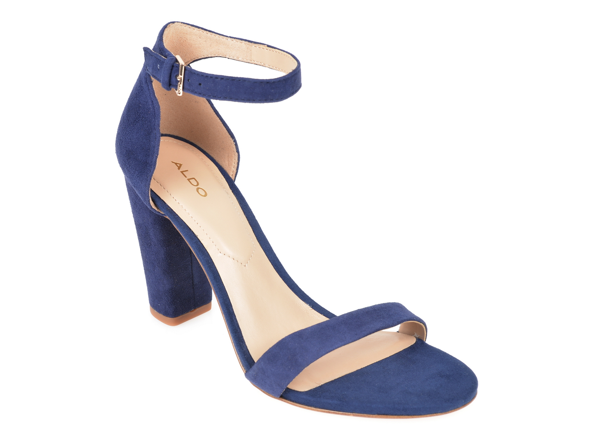 Sandale ALDO bleumarin, Jerayclya410, din piele intoarsa imagine otter.ro