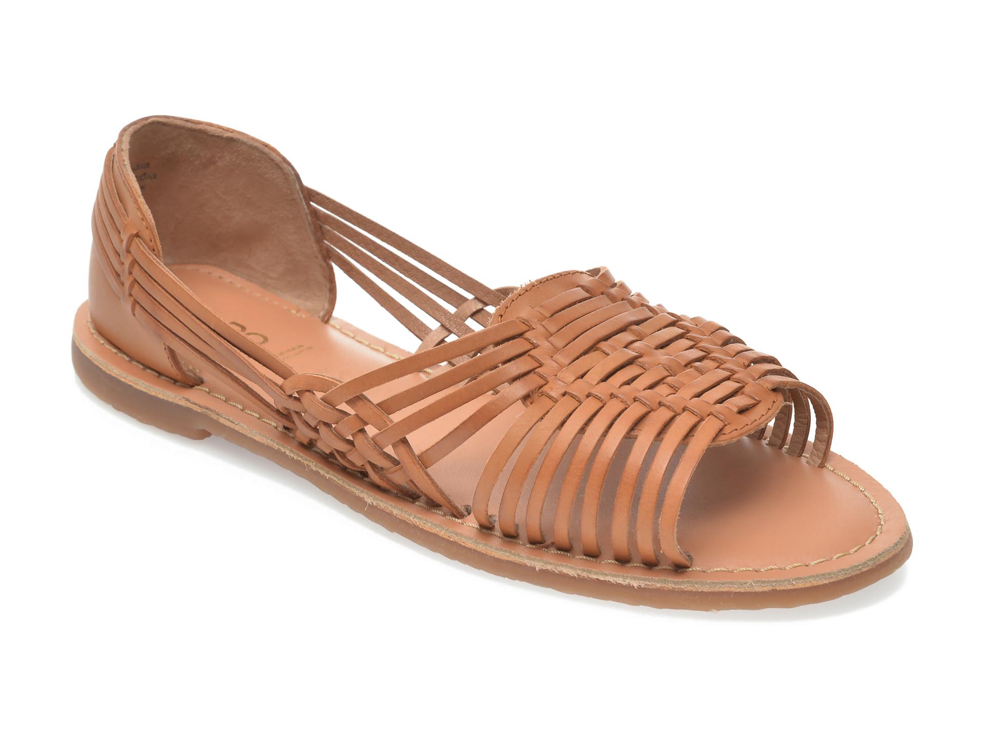 Sandale ALDO maro, Ariadnee220, din piele naturala imagine otter.ro 2021