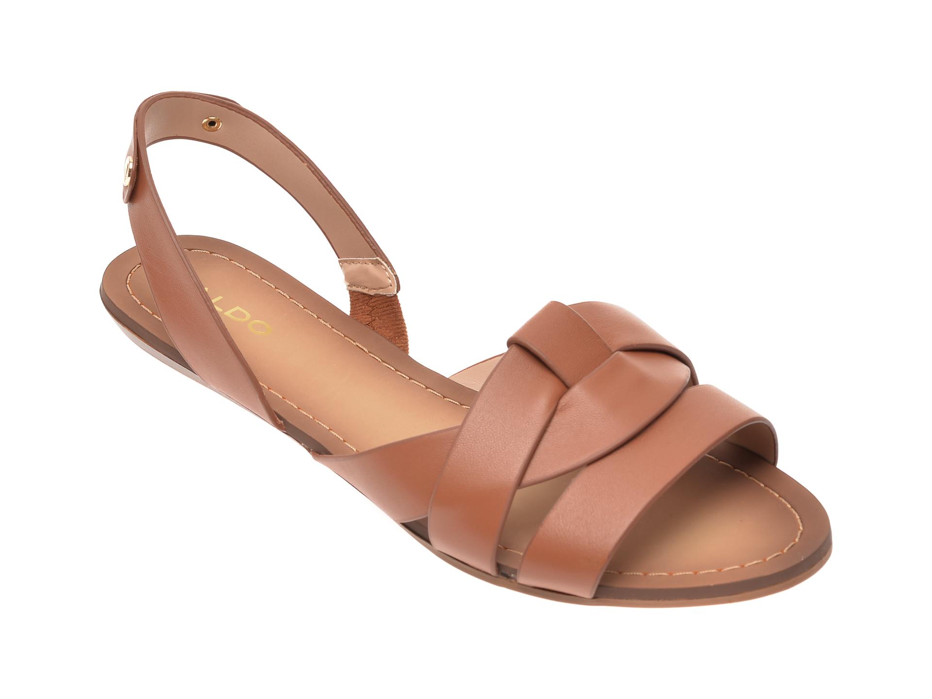 Sandale ALDO maro, Deladriewiel220, din piele naturala imagine otter.ro 2021