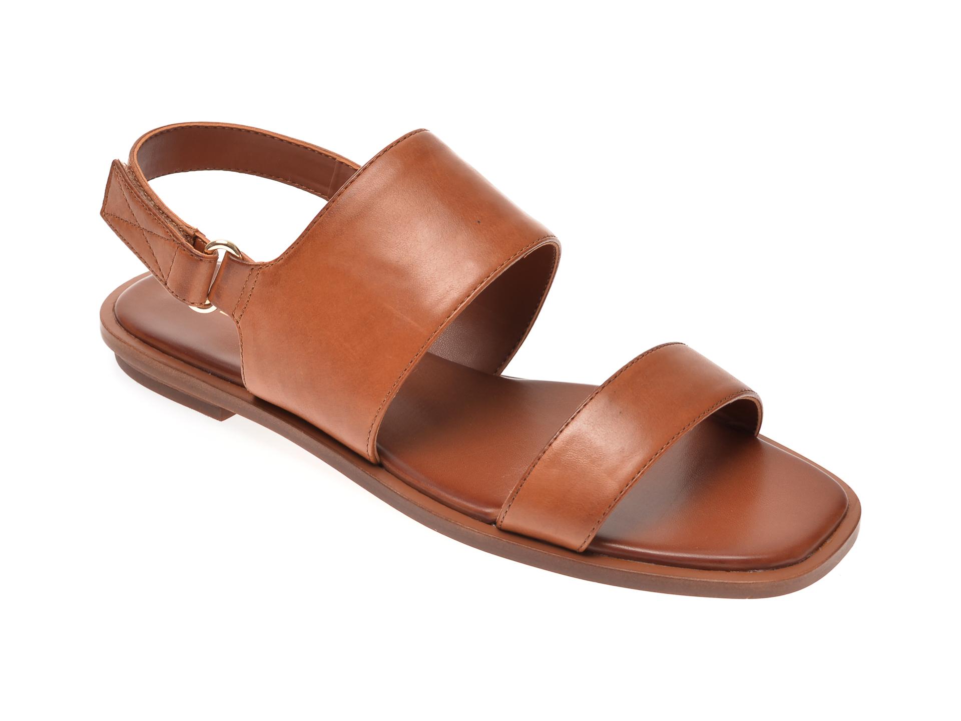 Sandale ALDO maro, Sula220, din piele naturala