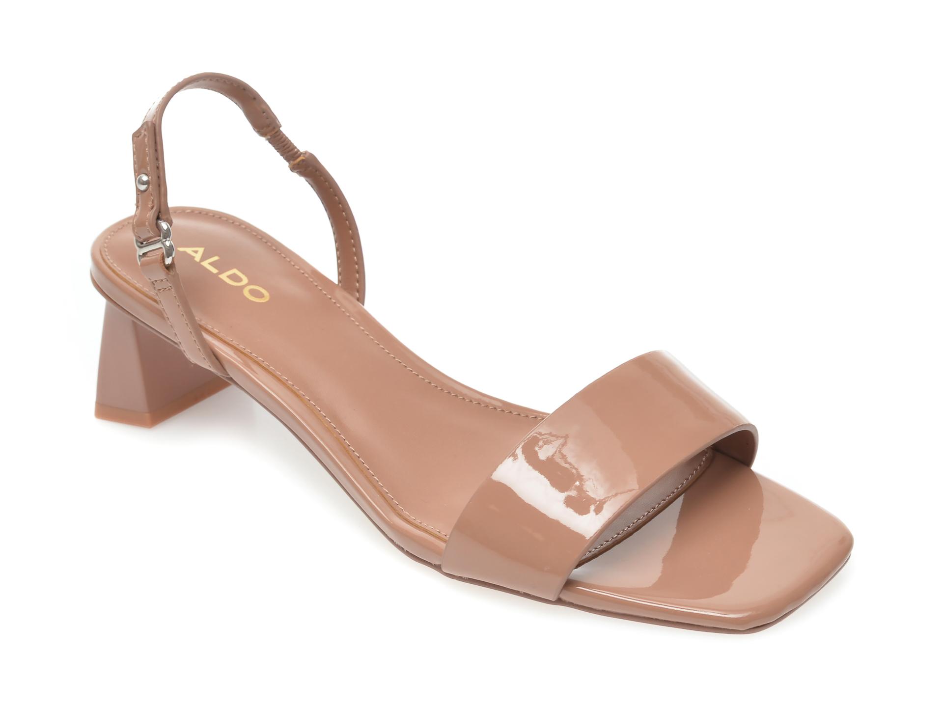 Sandale ALDO maro, Tysen200, din piele ecologica New
