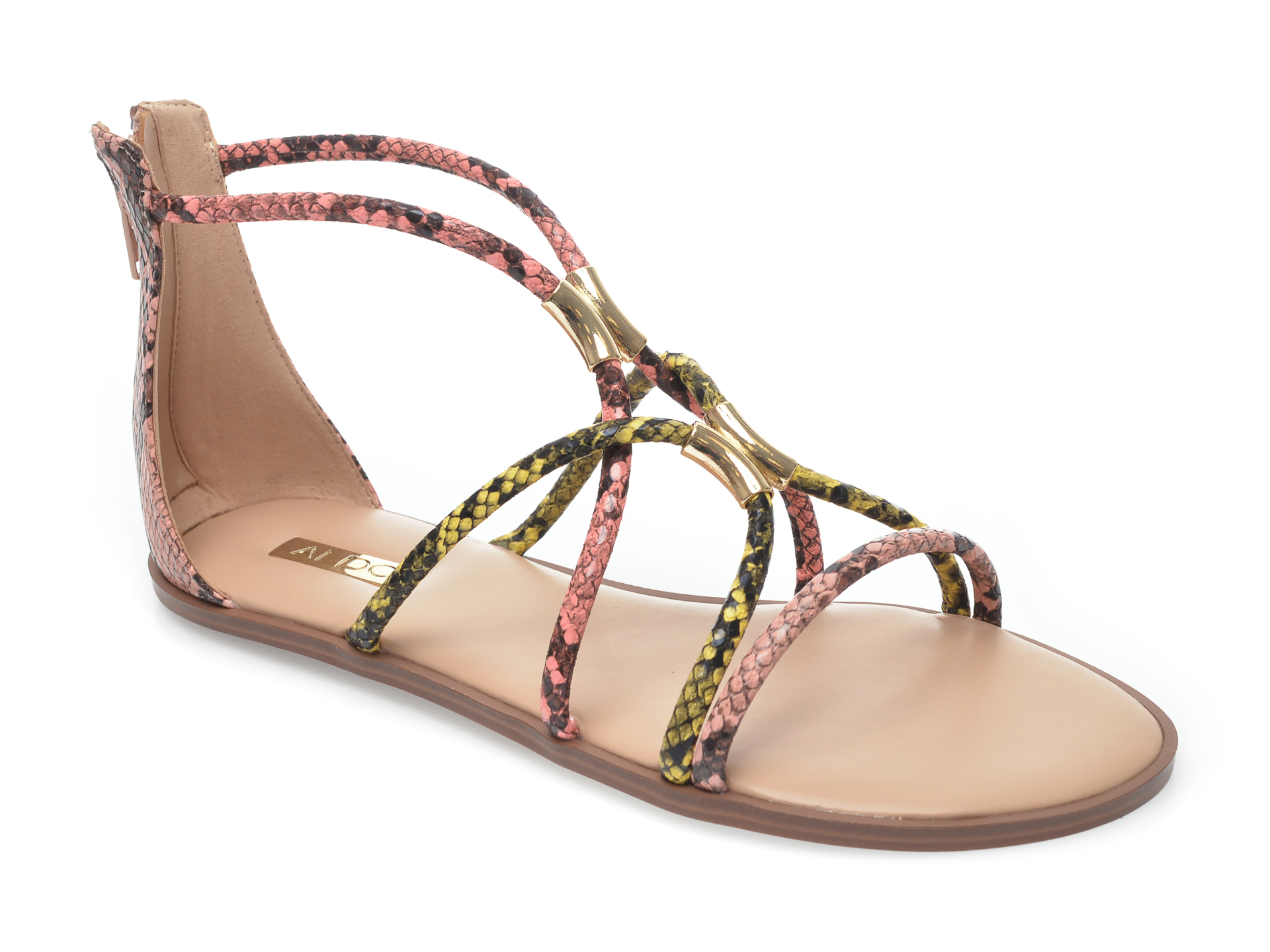 Sandale ALDO multicolor, Pozoa960, din piele ecologica imagine otter.ro 2021