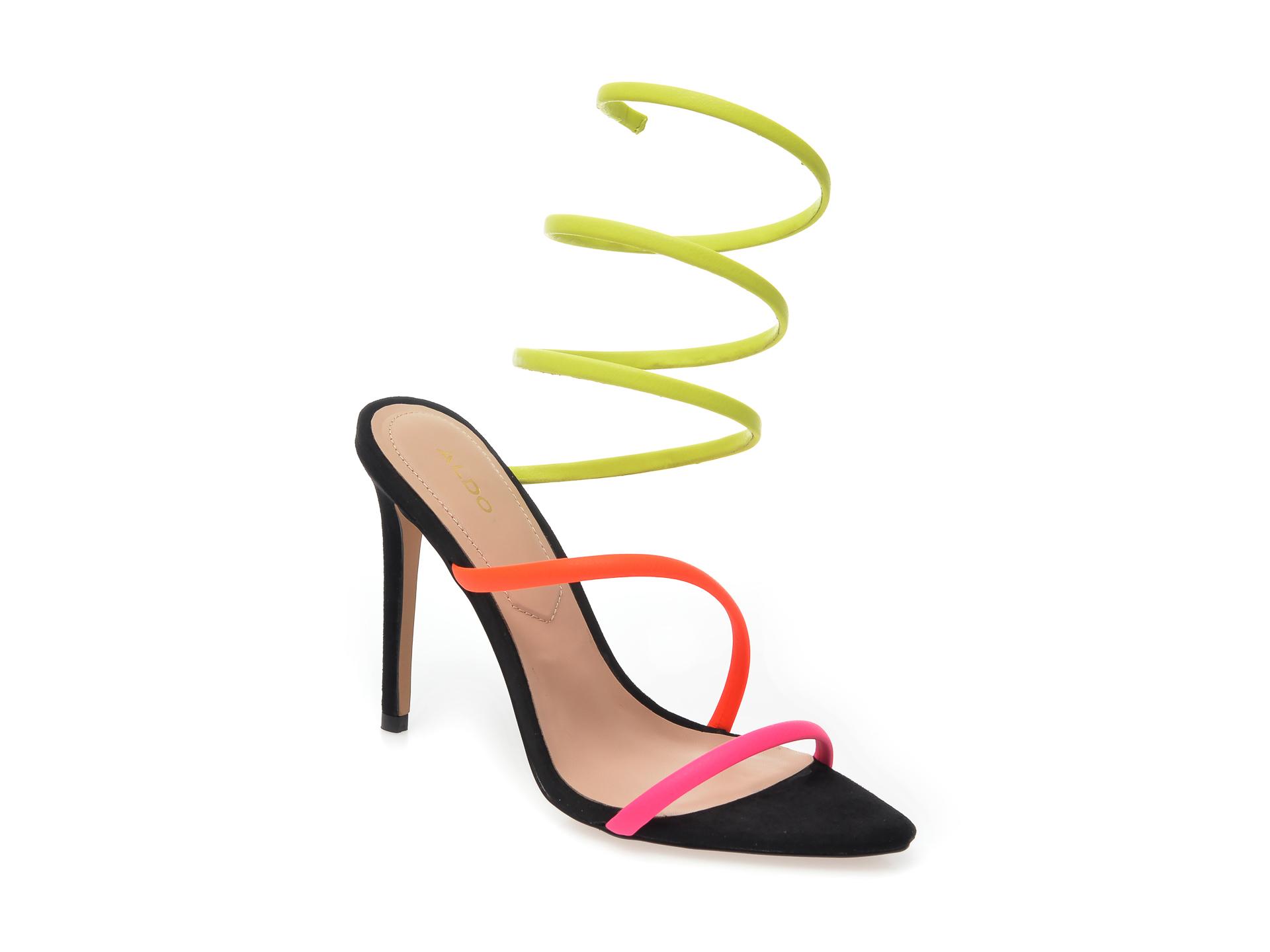 Sandale ALDO multicolor, Zingy960, din piele ecologica imagine otter.ro 2021