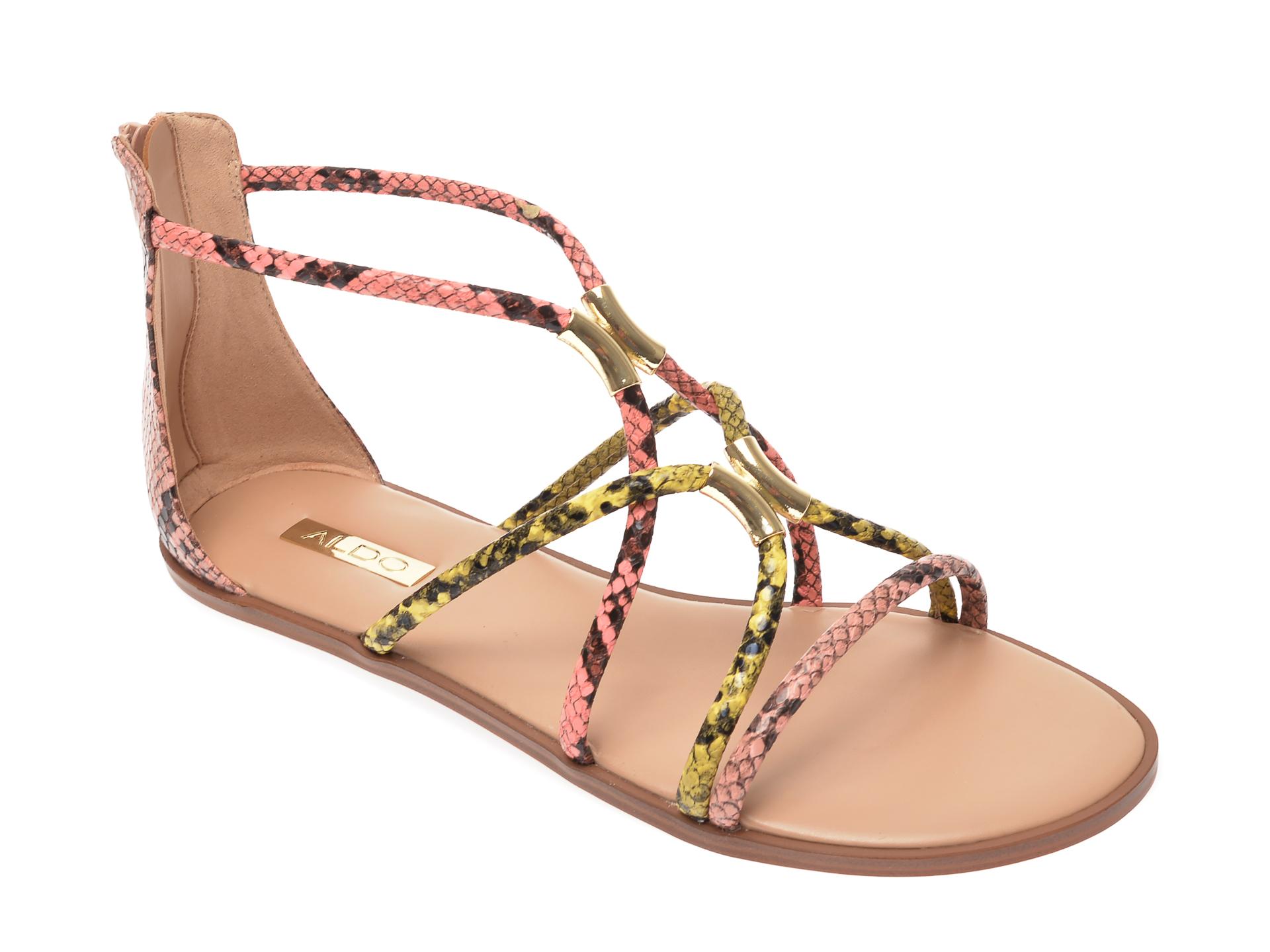 Sandale ALDO multicolore, Pozoa960, din piele ecologica