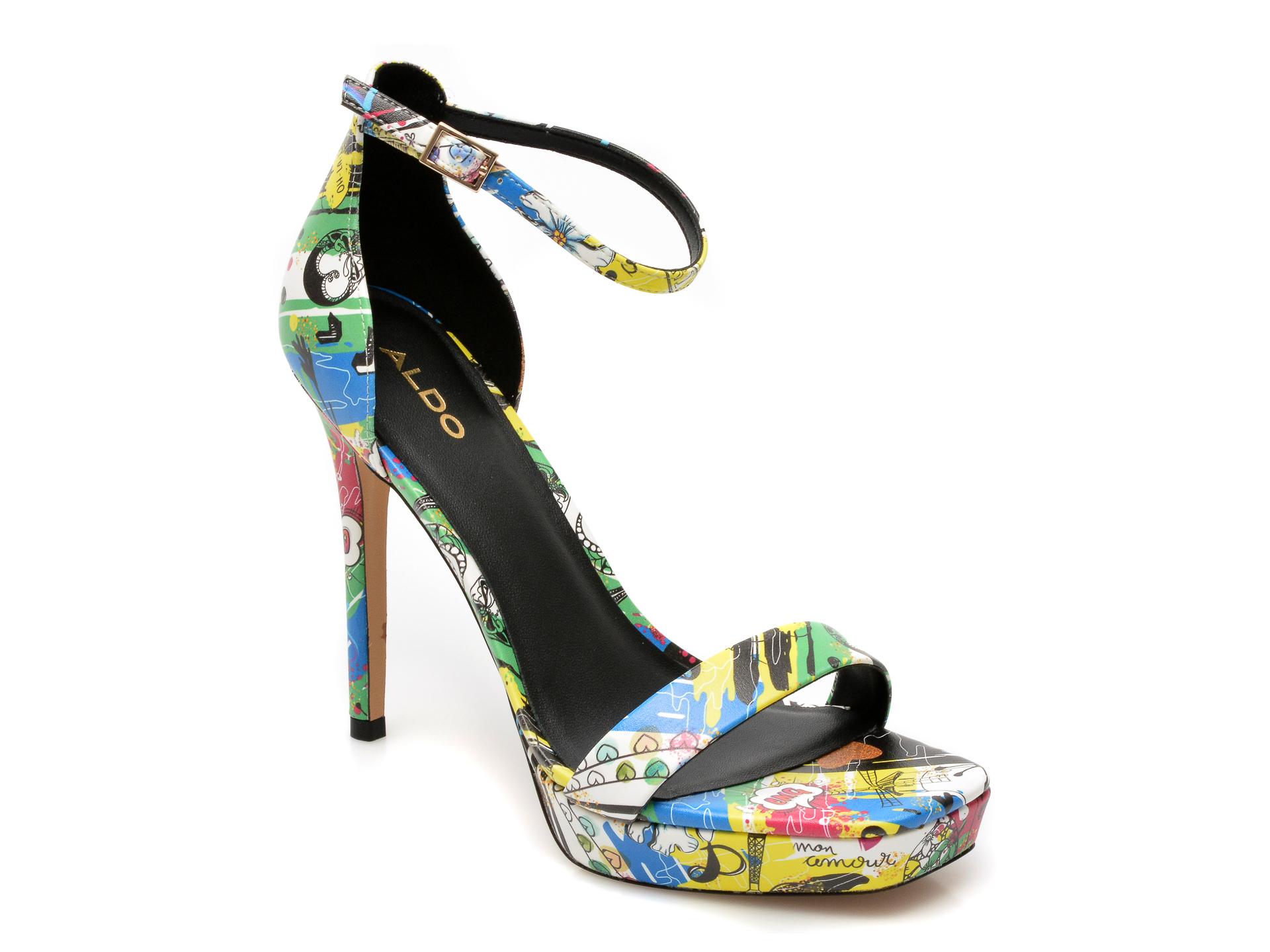 Sandale ALDO multicolore, Scarlett960, din piele ecologica imagine otter.ro