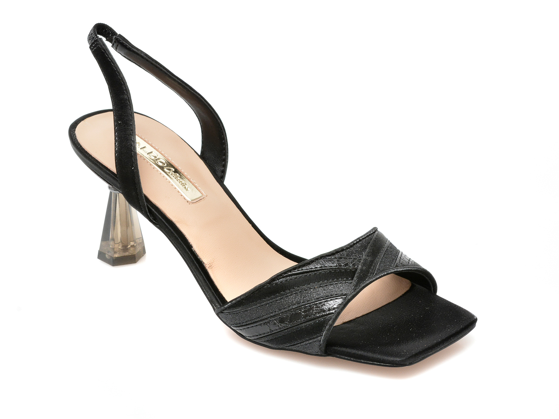 Sandale ALDO negre, Alinia001, din piele ecologica imagine otter.ro 2021