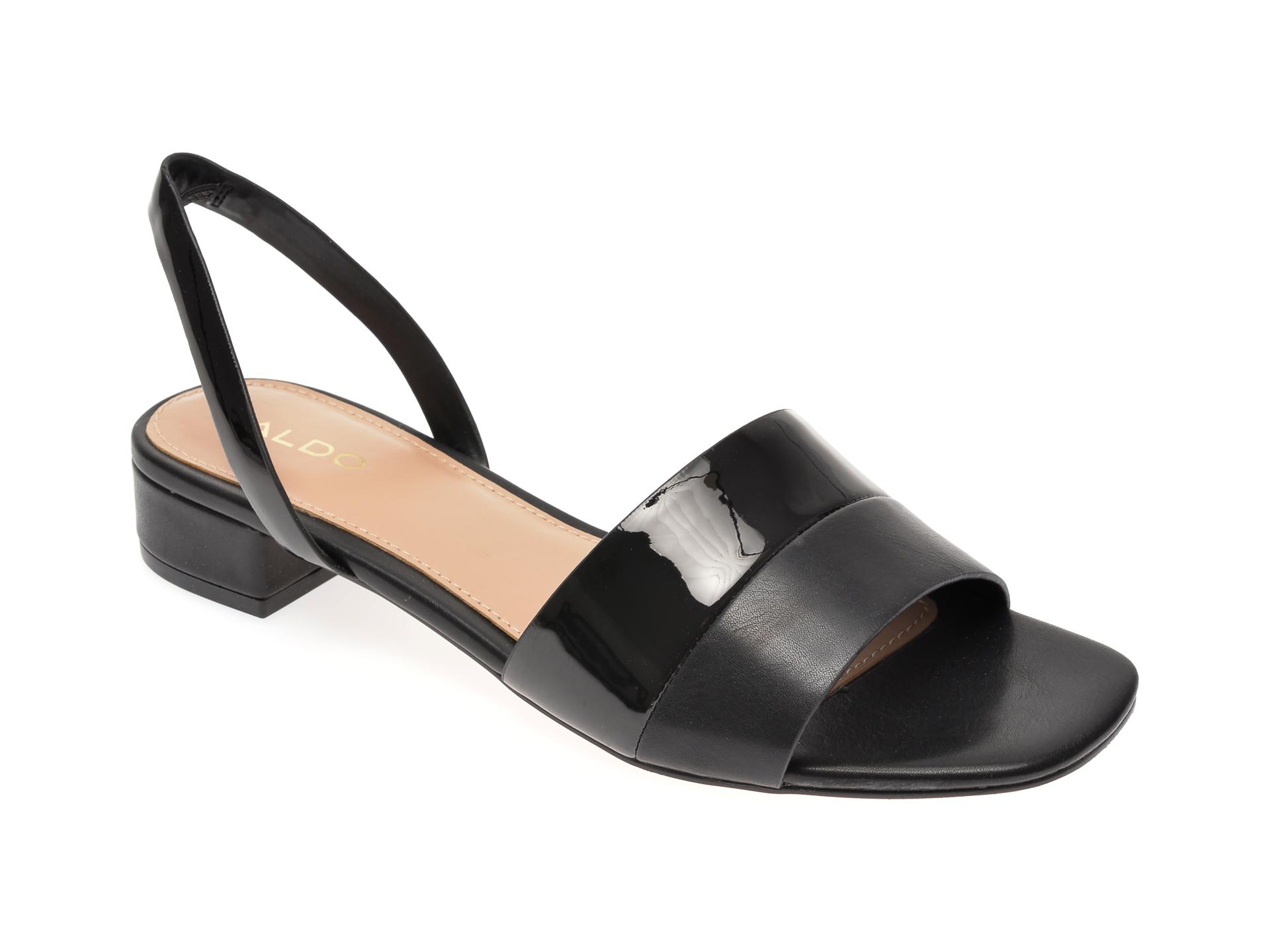 Sandale ALDO negre, Candy001, din piele ecologica imagine otter.ro 2021