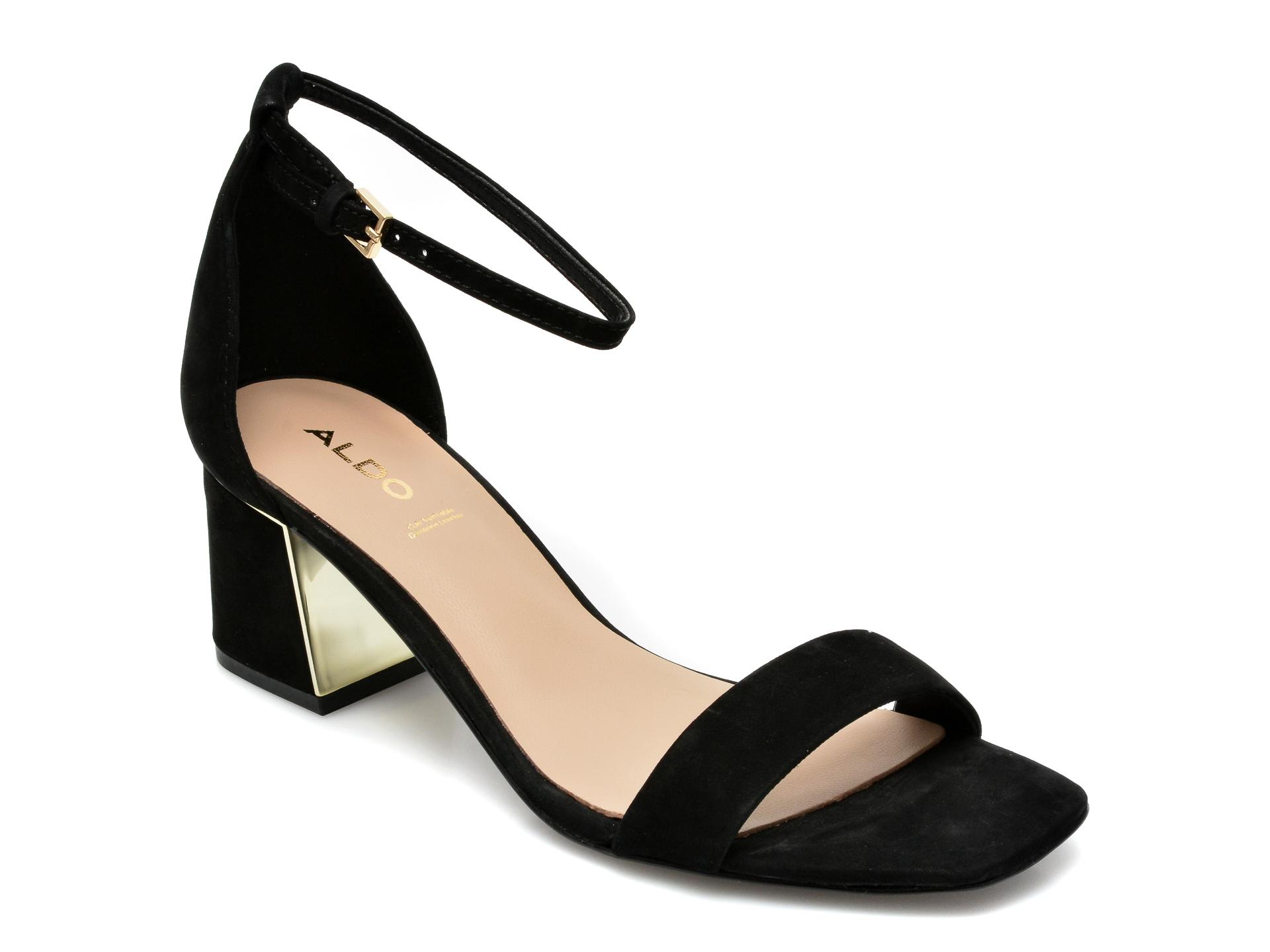 Sandale ALDO negre, Kedeaviel001, din nabuc imagine otter.ro 2021