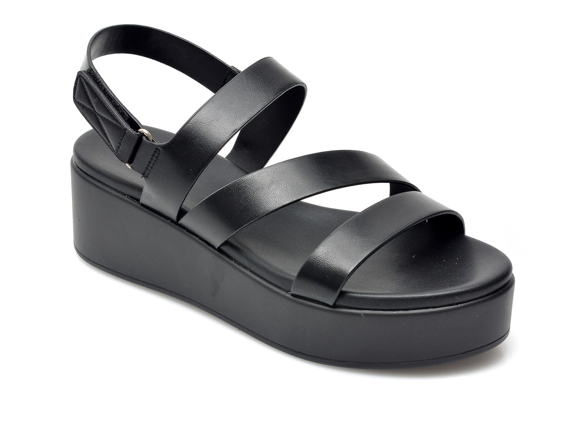 Sandale ALDO negre, Perwell001, din piele ecologica imagine otter.ro