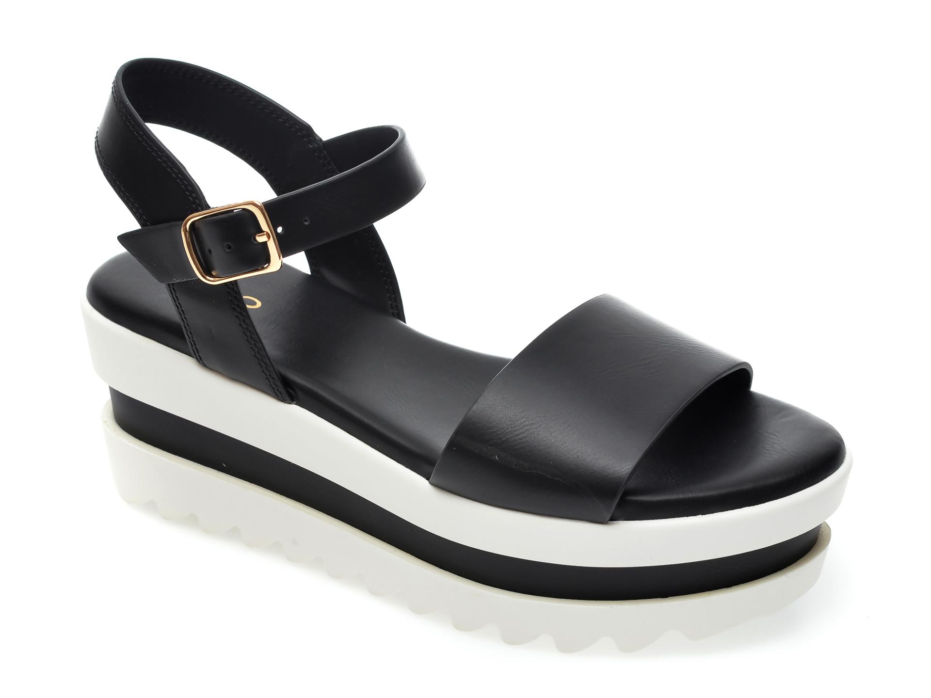 Sandale ALDO negre, Thryndra001, din piele ecologica imagine otter.ro
