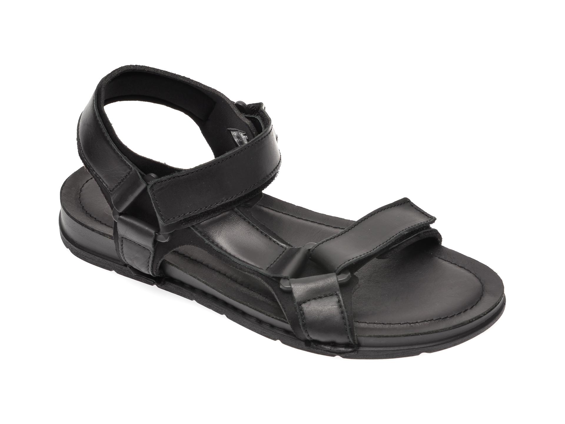 Sandale ALDO negre, Uligolian001, din piele naturala imagine