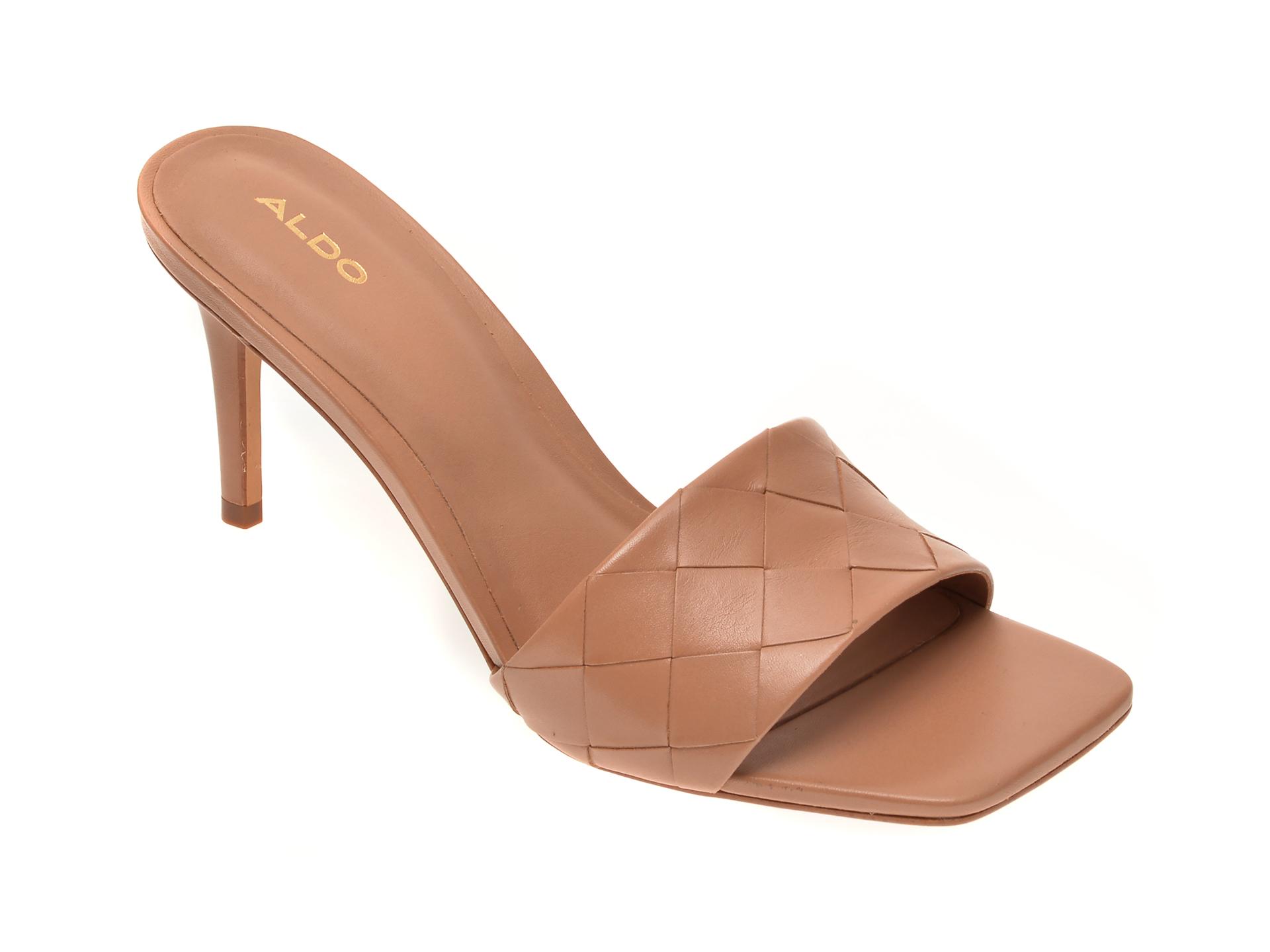 Sandale ALDO nude, Acendan270, din piele naturala imagine otter.ro