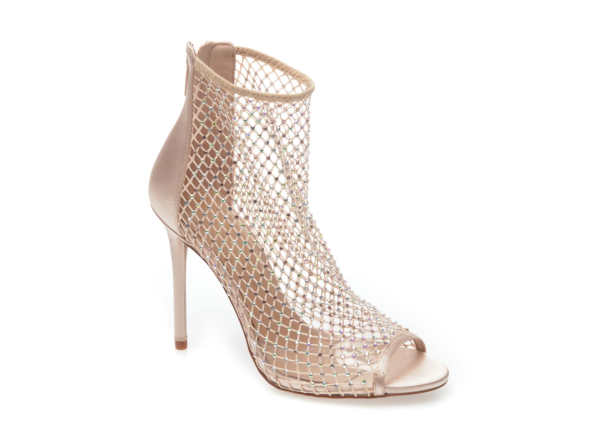 Sandale ALDO nude, Adhalia680, din material textil New