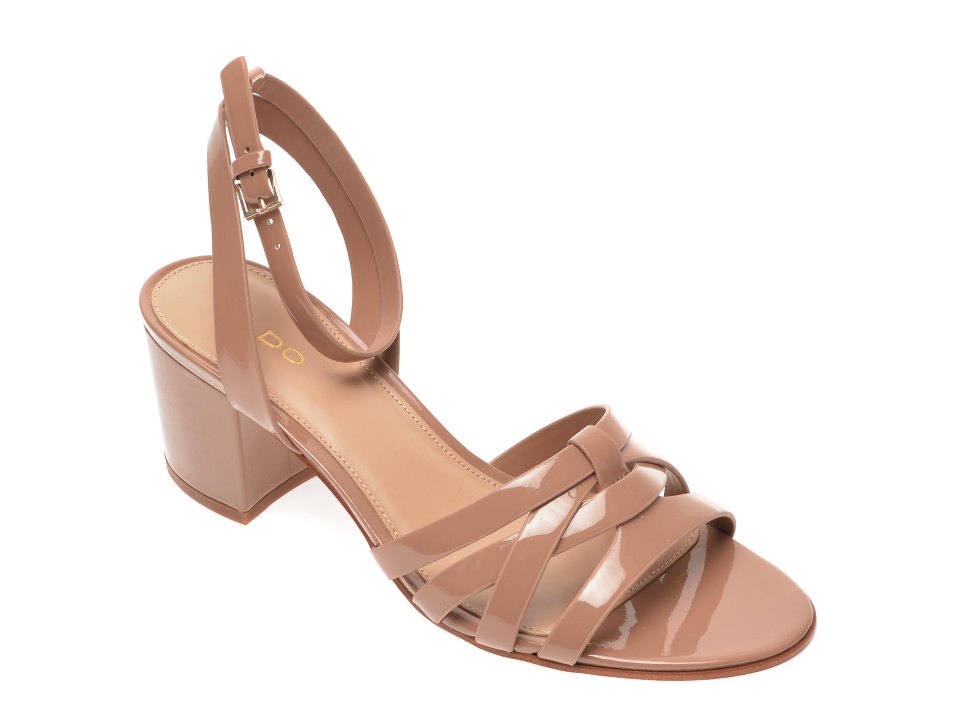 Sandale ALDO nude, Hillia270, din piele ecologica imagine otter.ro