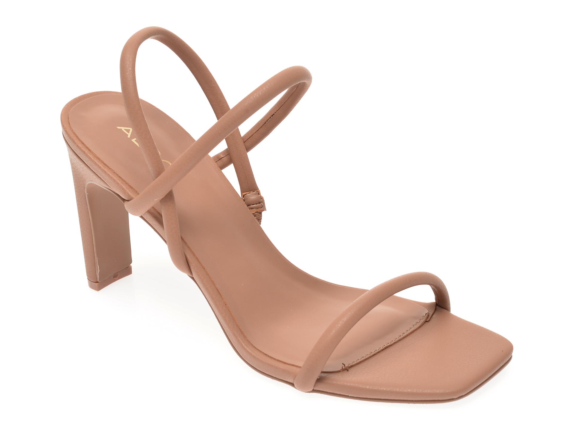 Sandale ALDO nude, Karla270, din piele ecologica imagine otter.ro 2021