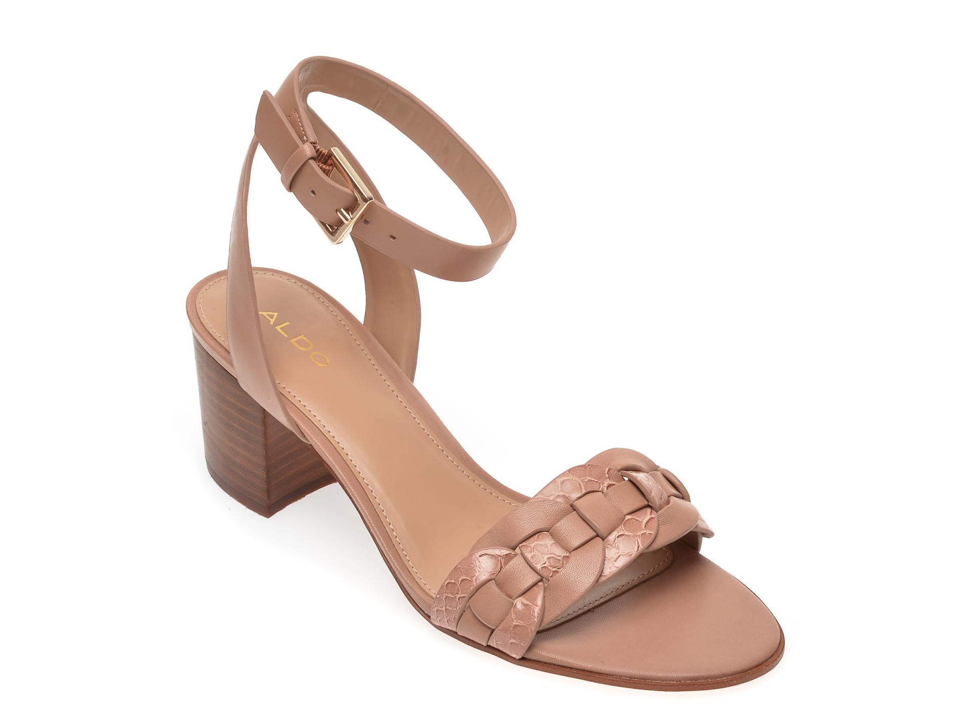 Sandale ALDO nude, Katerina270, din piele ecologica imagine otter.ro 2021
