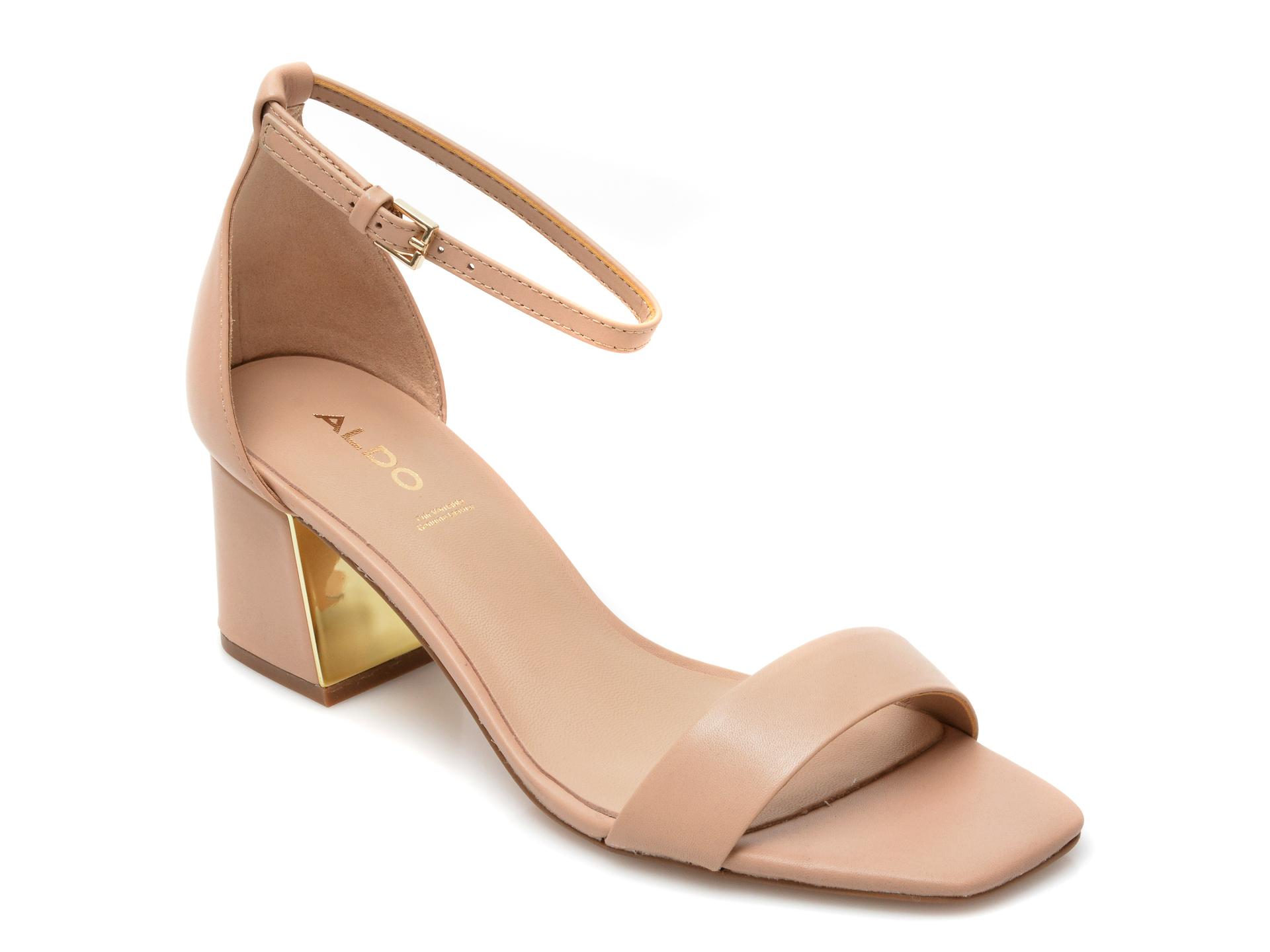 Sandale ALDO nude, Kedeaviel270, din piele naturala imagine otter.ro 2021