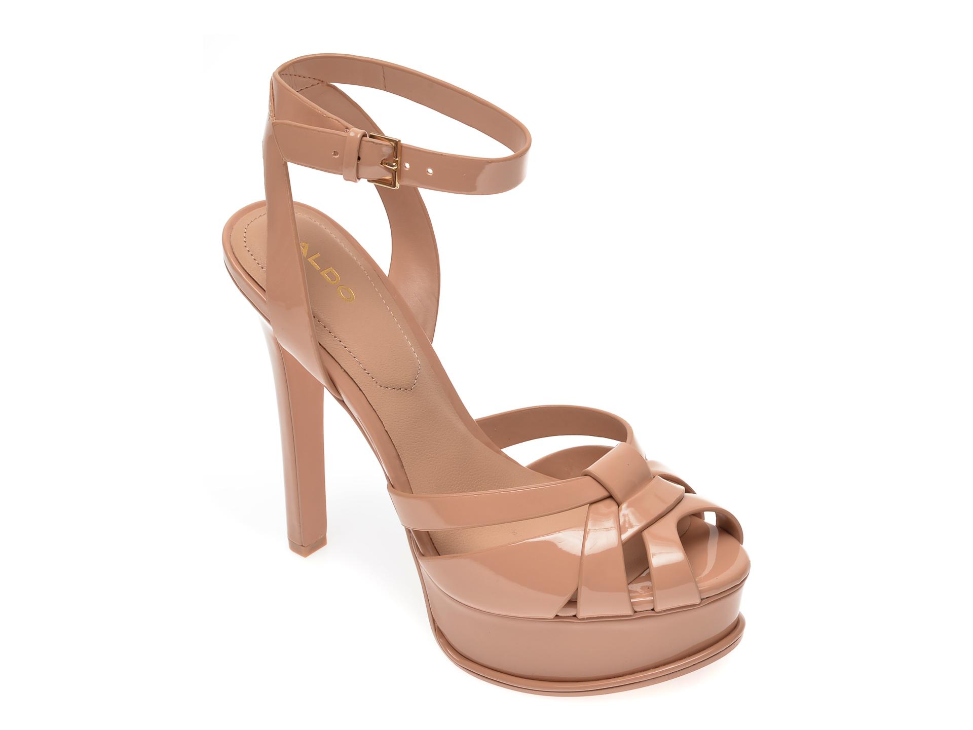 Sandale ALDO nude, Lacla270, din piele ecologica