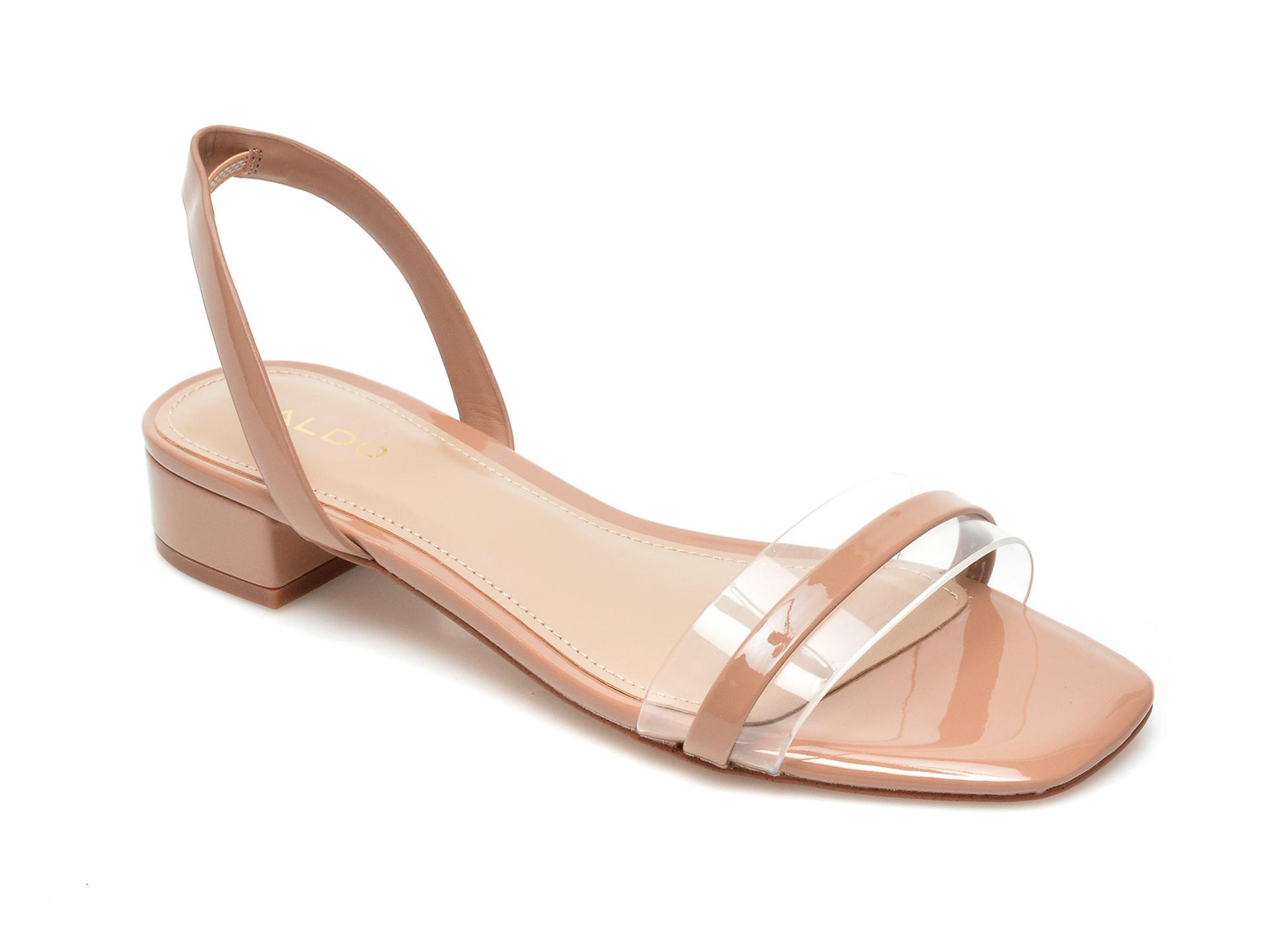 Sandale ALDO nude, Macyflex270, din piele ecologica imagine otter.ro