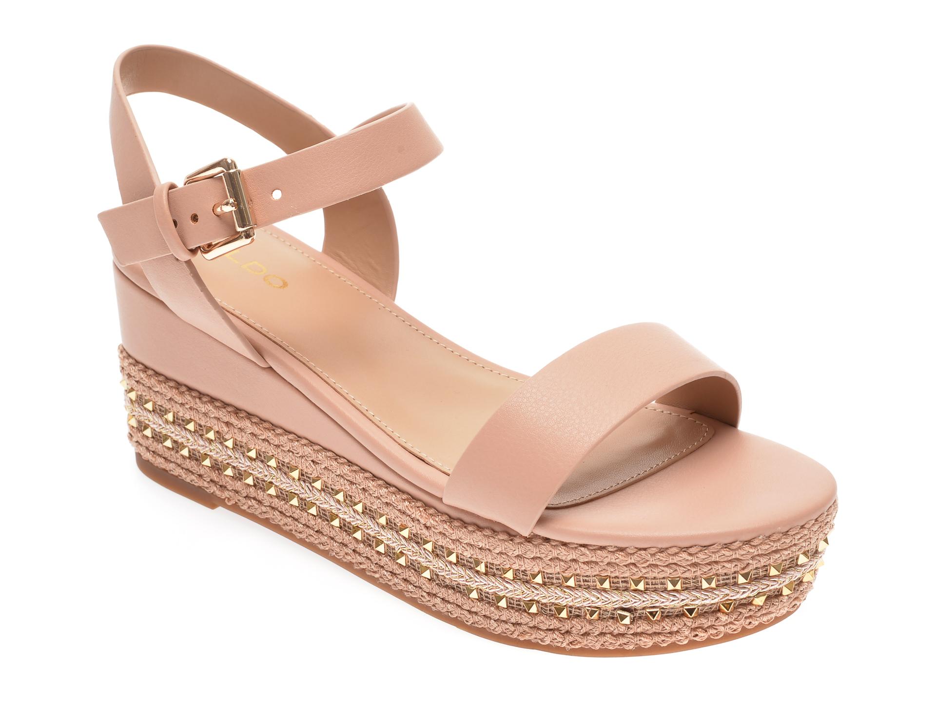 Sandale ALDO nude, Mauma690, din piele ecologica