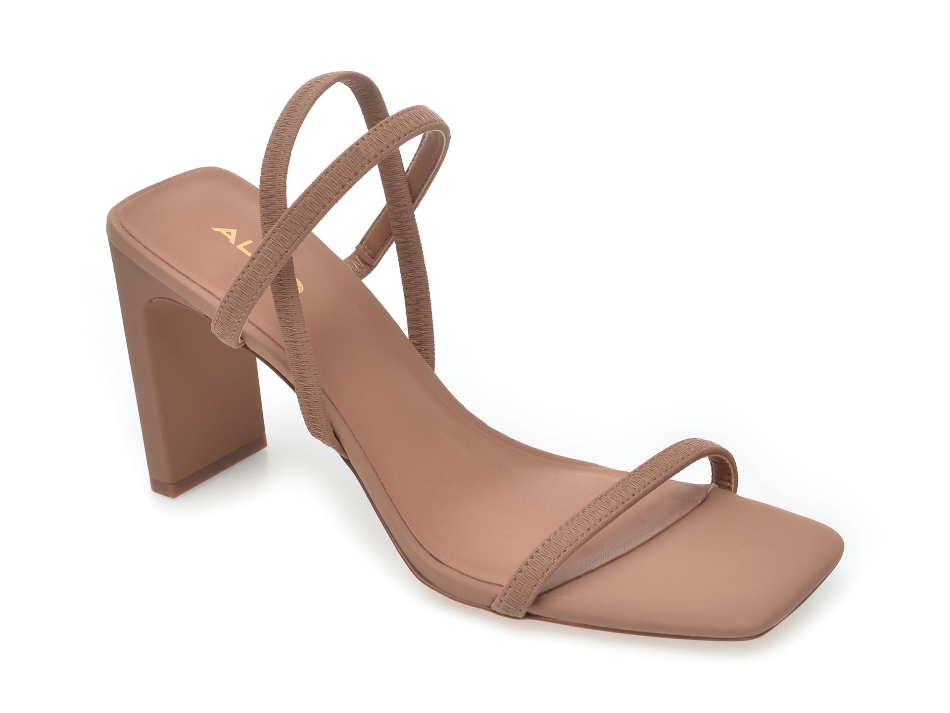 Sandale ALDO nude, Okurr270, din piele ecologica New