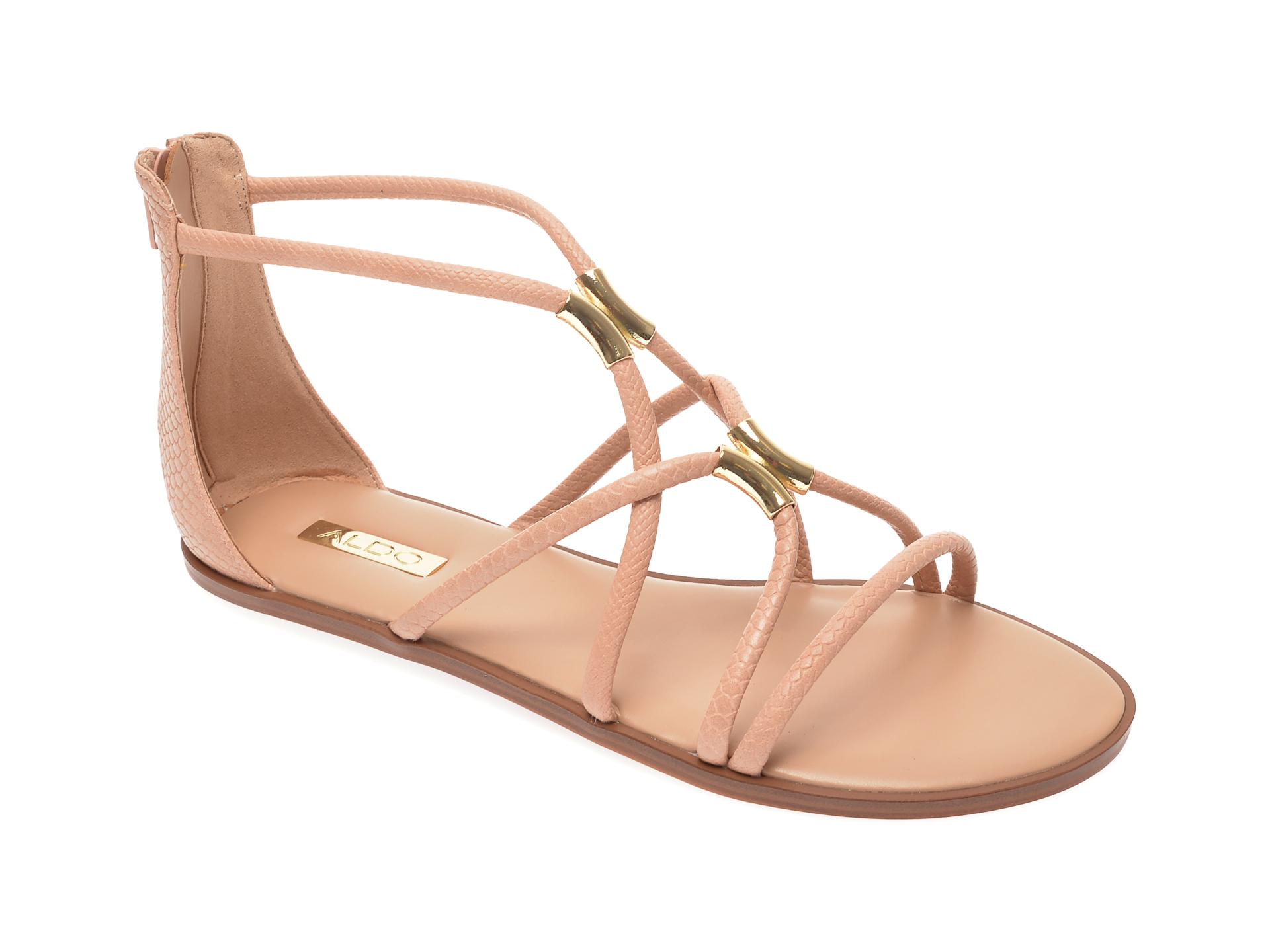 Sandale ALDO nude, Pozoa270, din piele ecologica