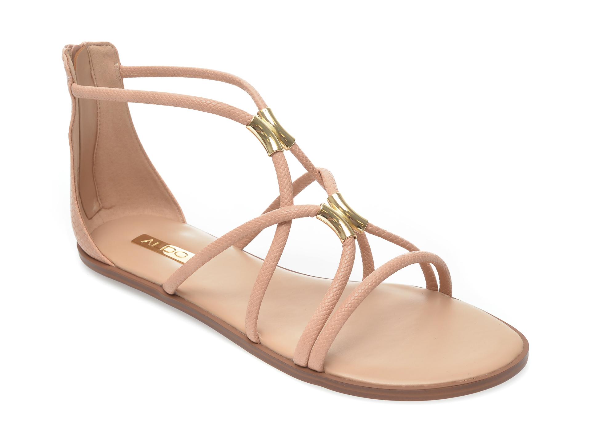 Sandale ALDO nude, Pozoa270, din piele ecologica imagine otter.ro 2021