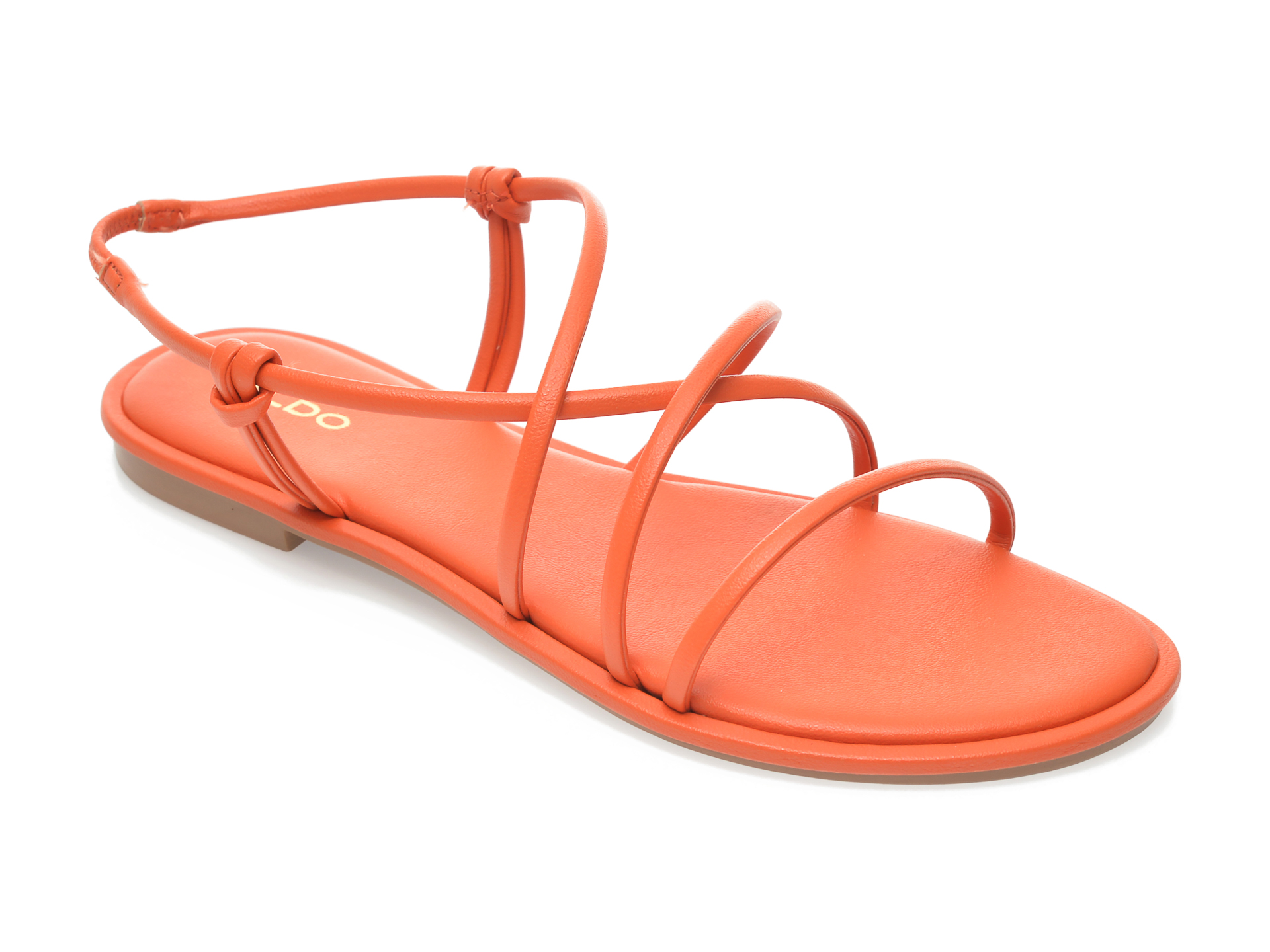 Sandale ALDO portocalii, Kuerten800, din piele ecologica imagine otter.ro