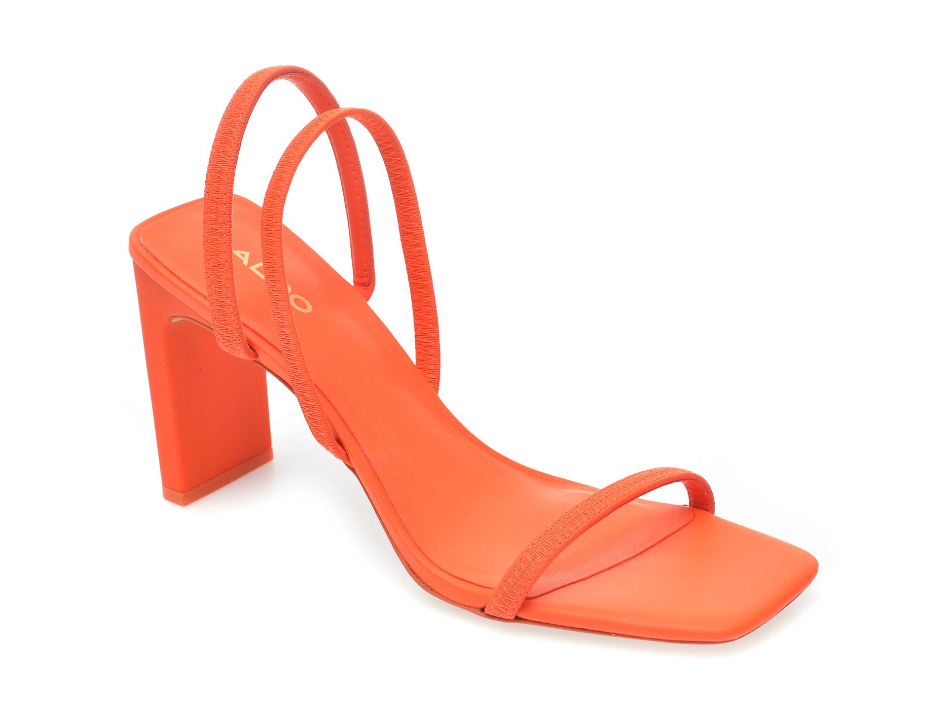 Sandale ALDO portocalii, Okurr600, din piele ecologica imagine otter.ro 2021