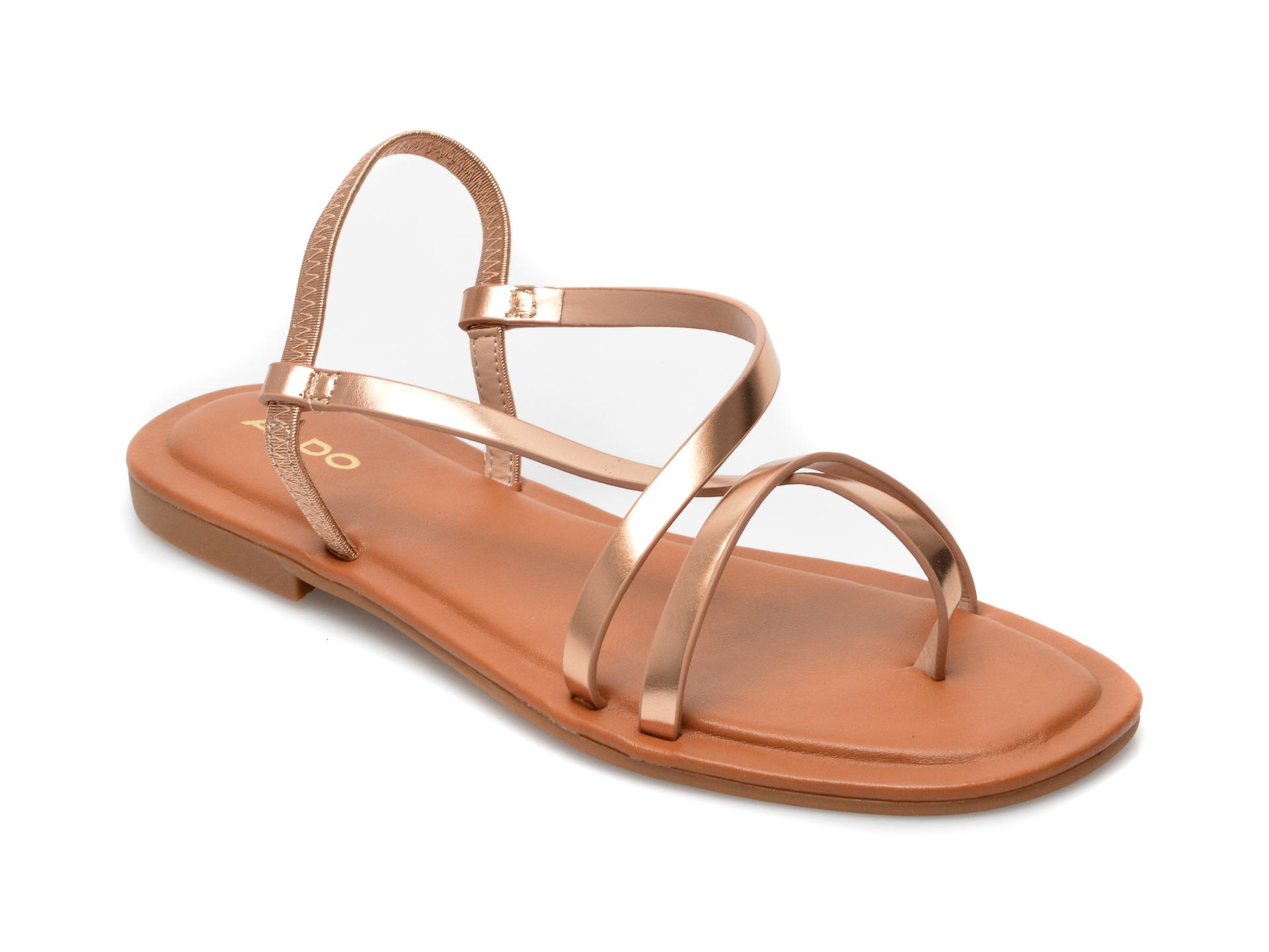 Sandale ALDO roz, 13189140, din piele ecologica imagine otter.ro 2021