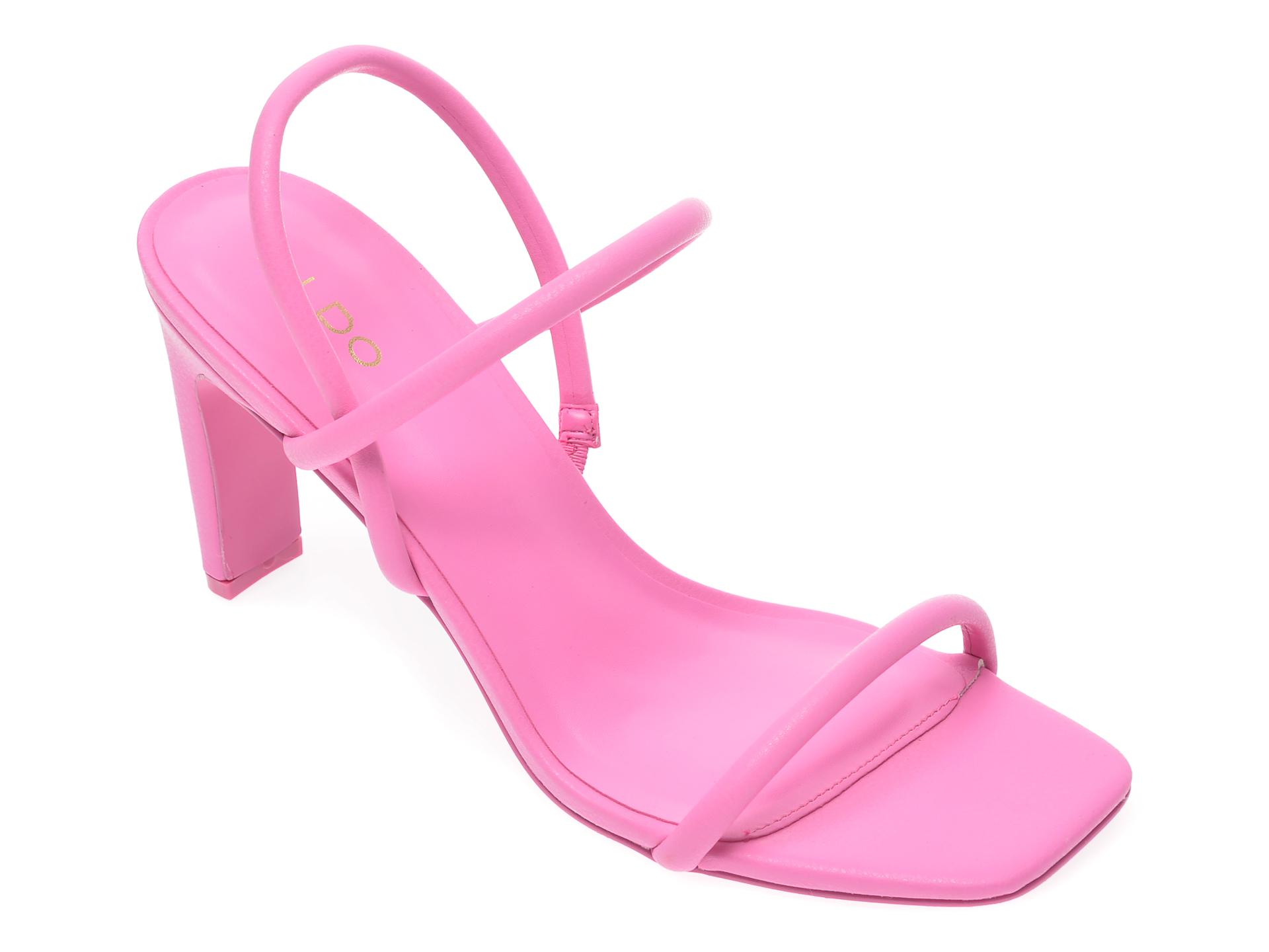 Sandale ALDO roz, Karla680, din piele ecologica