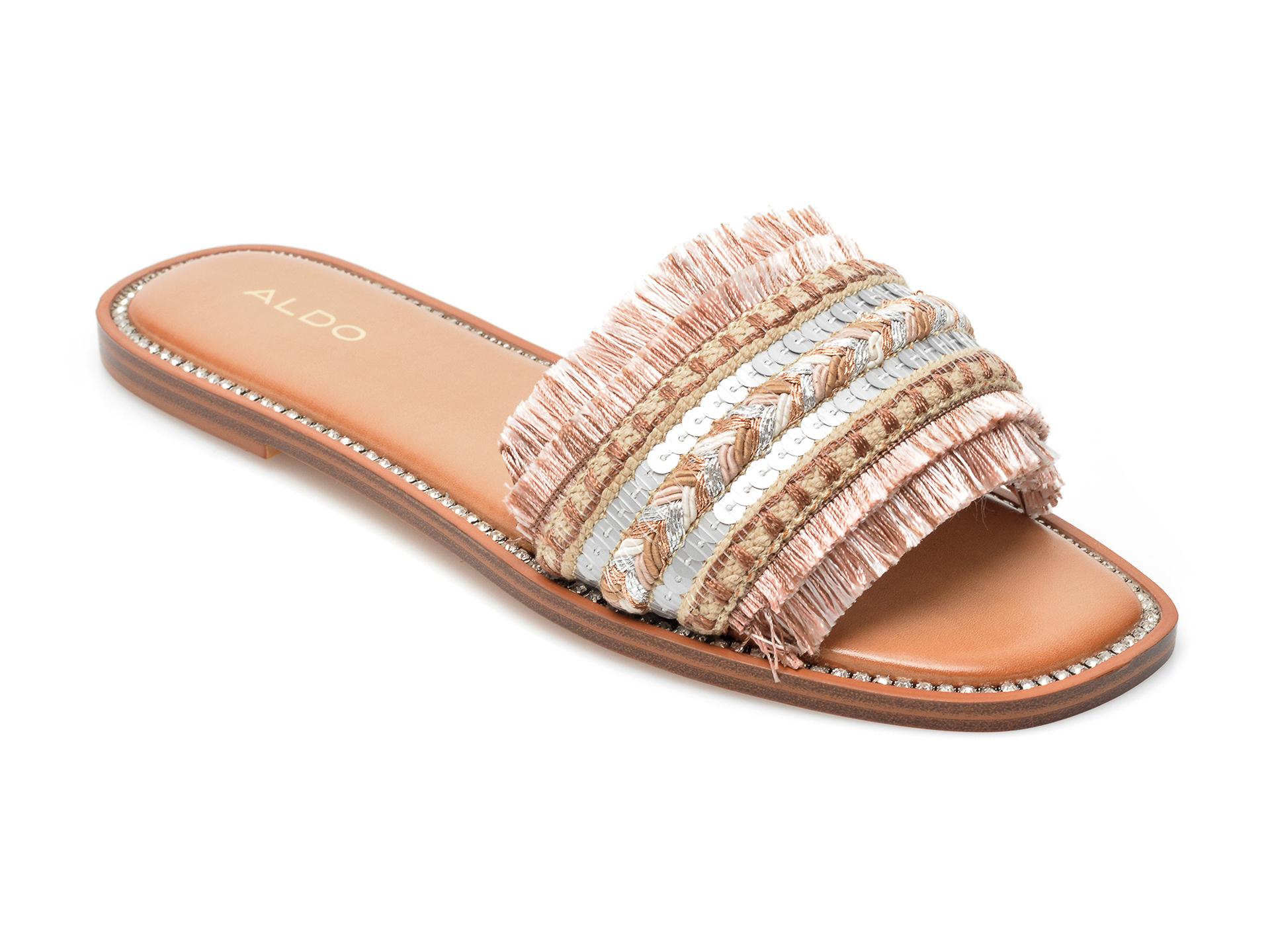 Sandale ALDO roz, Rockyy680, din material textil imagine otter.ro 2021