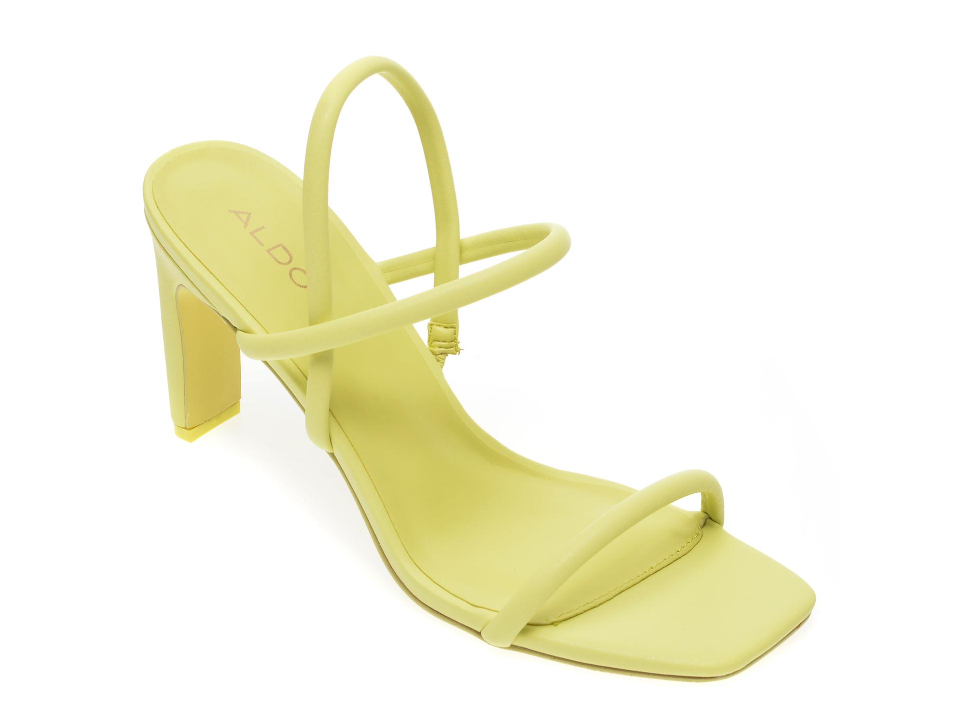 Sandale ALDO verzi, Karla330, din piele ecologica imagine